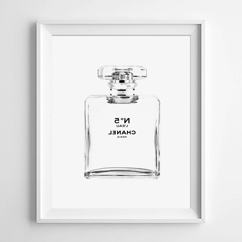 Creative Ideas Regarding Chanel Wall Decor (View 7 of 15)