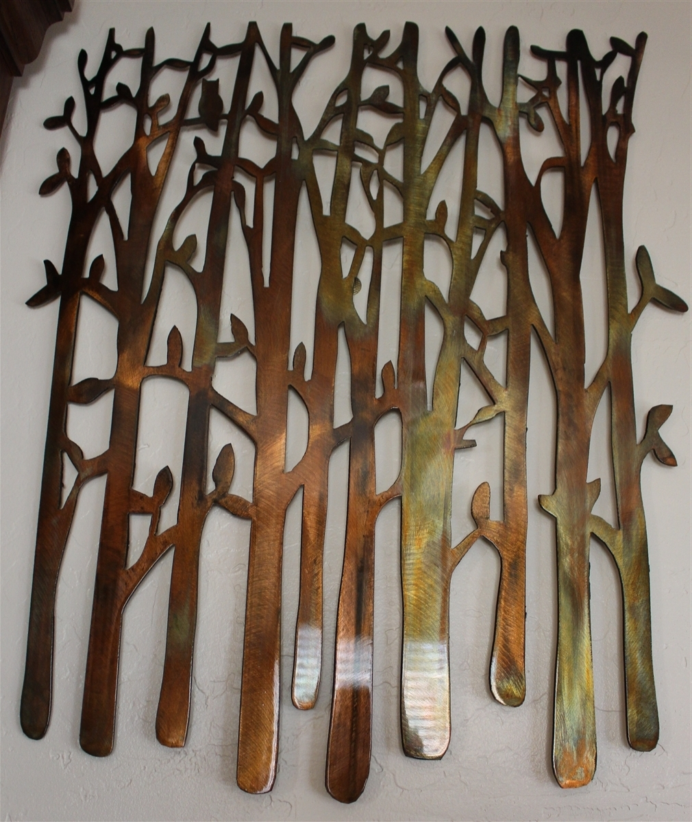 Creative Ideas Regarding Oak Tree Metal Wall Art (View 12 of 15)