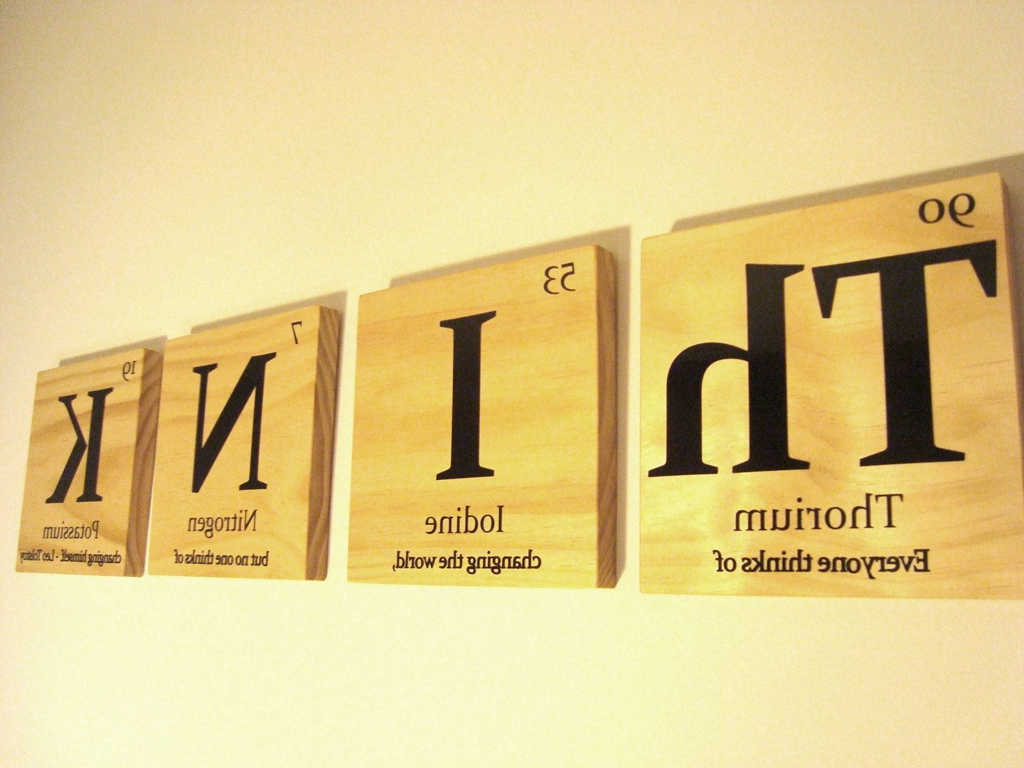 Creative Ideas Within Wooden Word Wall Art (View 2 of 15)