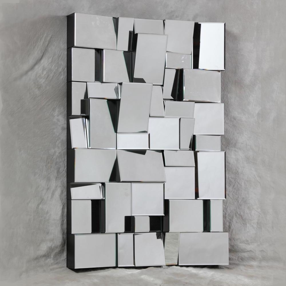 Current 3D Modern Wall Art For Wall Art Design Ideas: Foldable Creative 3D Mirror Wall Art (View 6 of 15)