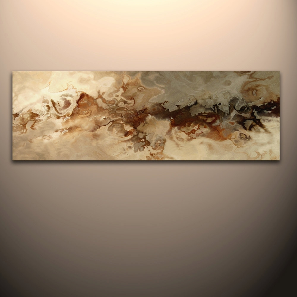 Current 60 X 20 Abstract Canvas Wall Art Giclee Print (View 9 of 15)