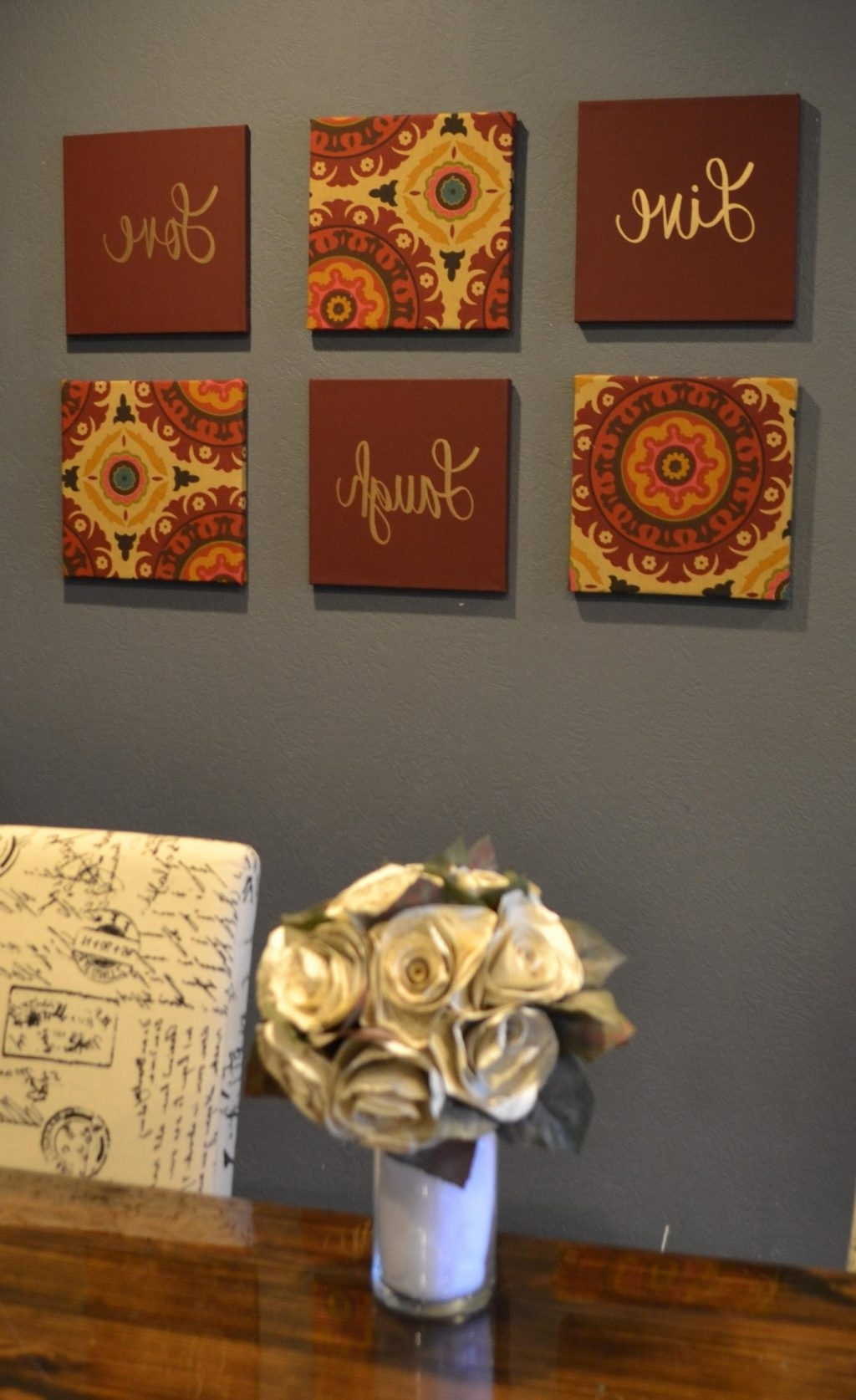 Current Absolutely Design Burgundy Wall Art Canvas And Green Black Flower For Burgundy Wall Art (View 6 of 15)