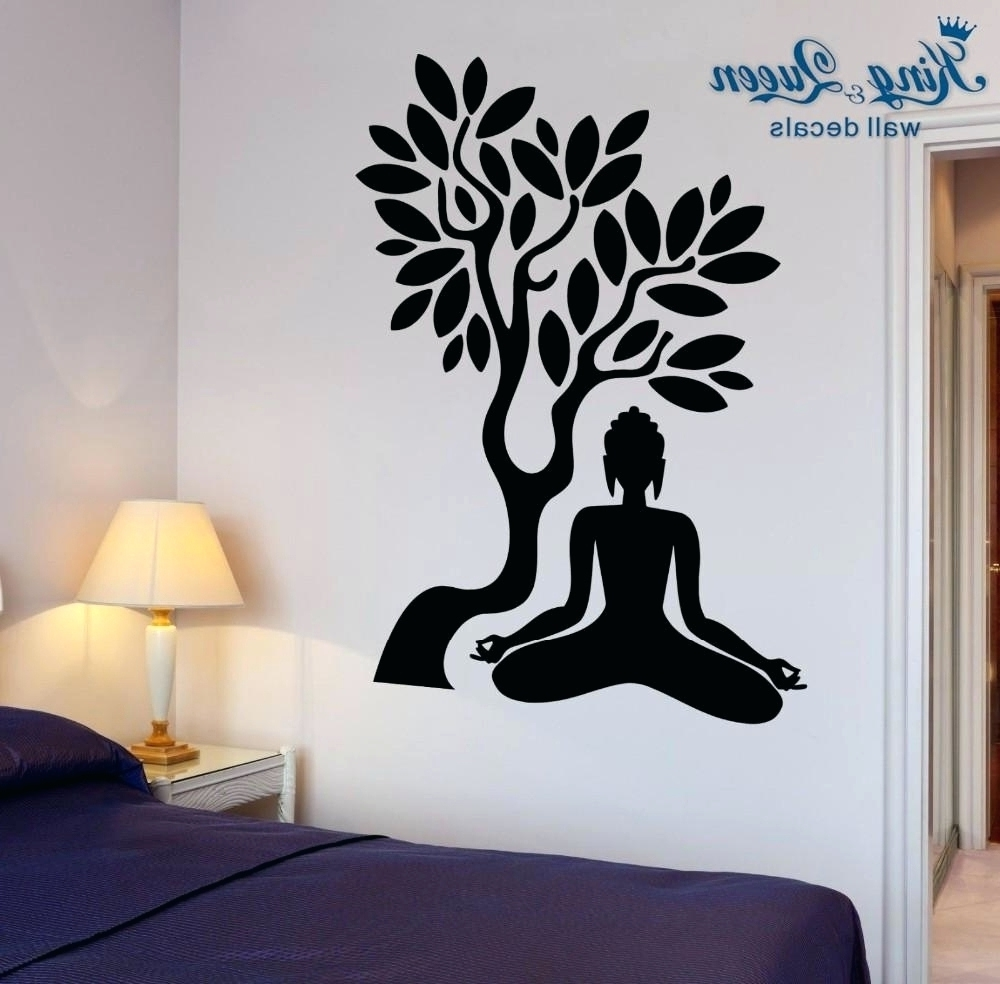 Current Bed Bath And Beyond 3d Wall Art In Wall Arts ~ Online Buy Wholesale Zen Wall Art Sticker From China (View 4 of 15)