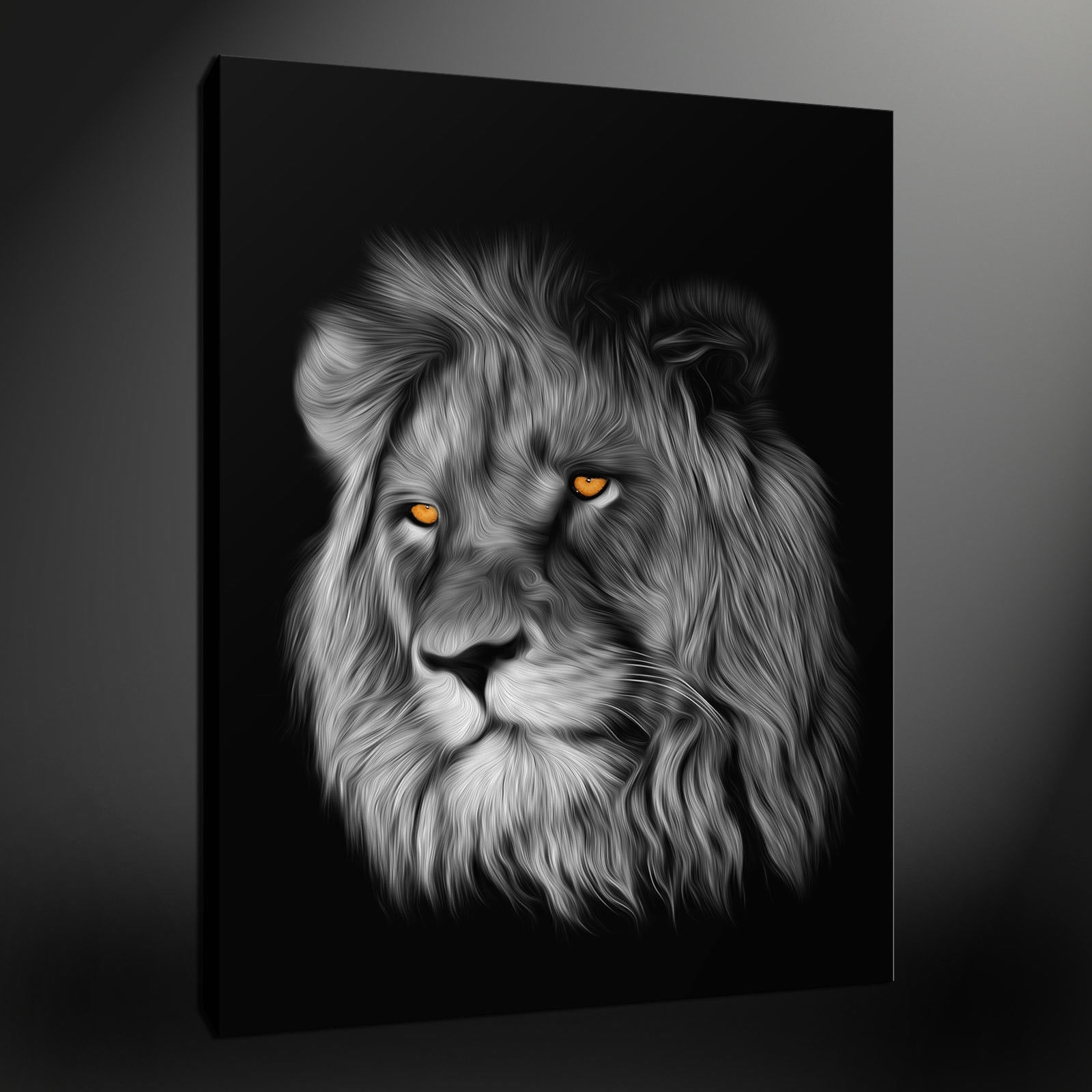 Current Canvas Print Pictures. High Quality, Handmade, Free Next Day Delivery. With Abstract Lion Wall Art (Gallery 8 of 15)