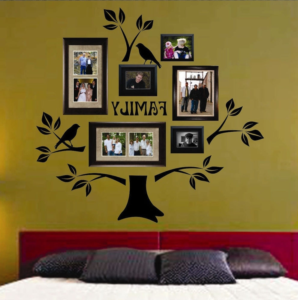 Pretty Family Tree Wall Art Decal Ideas - The Wall Art Decorations ...