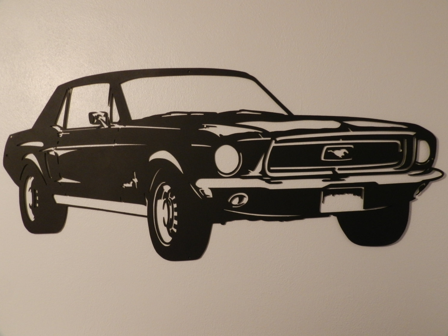 Featured Photo of Ford Mustang Metal Wall Art