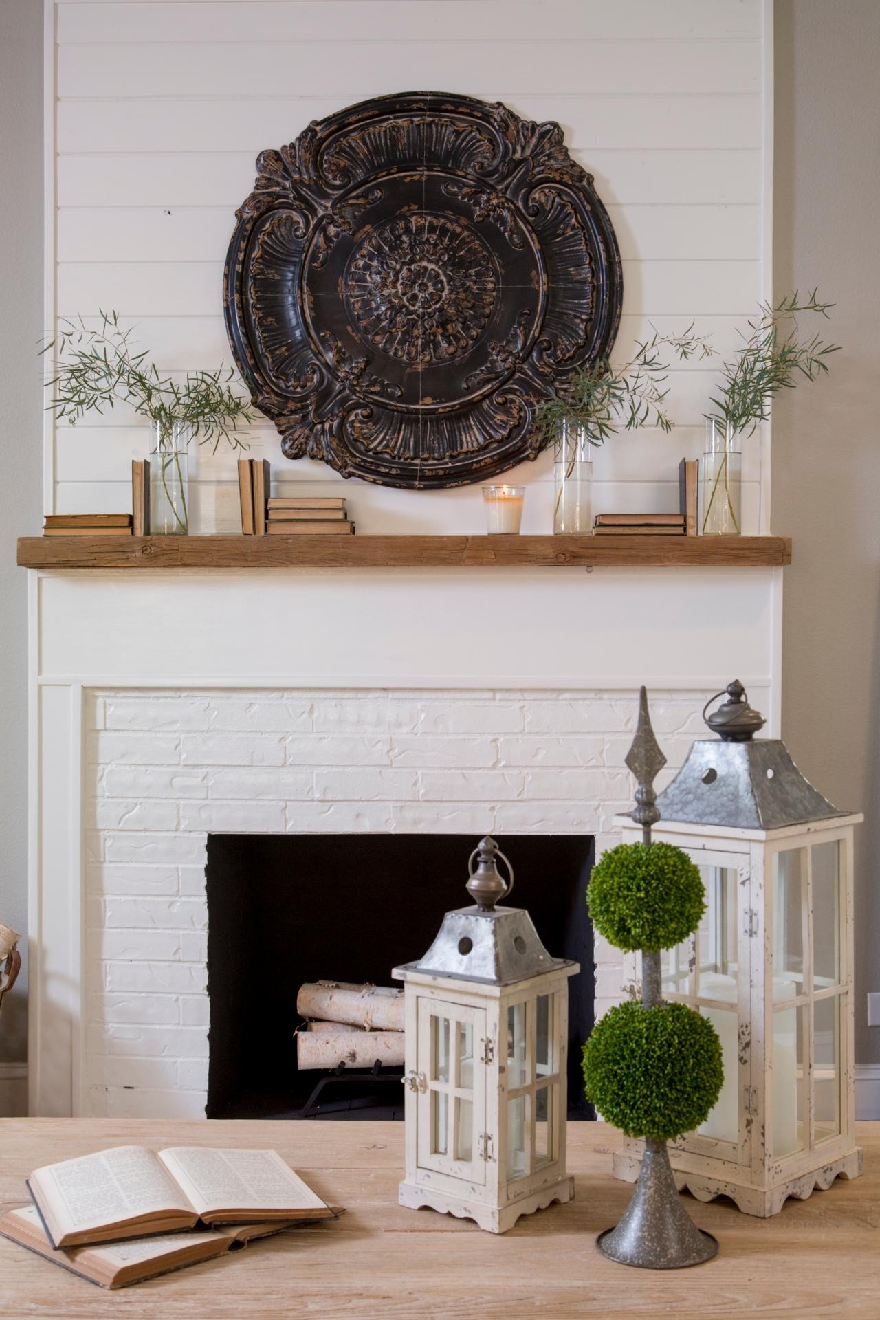 Current Furniture : Fabulous Wood Medallion Wall Decor New Medallion Tiles Within White Medallion Wall Art (View 8 of 15)