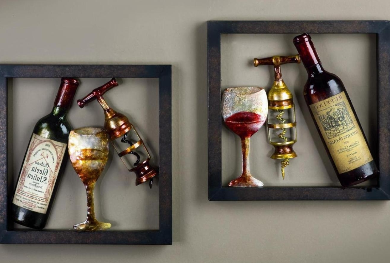 Current Italian Wine Wall Art In Kitchen : Kitchen Wine Themes Decor Rugs With And Gallery For (View 11 of 15)