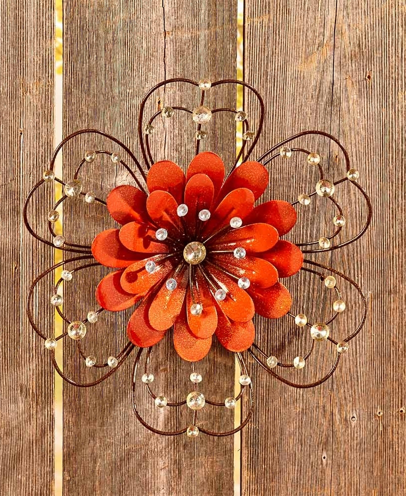 Current Jeweled Metal Wall Art With Jeweled Metal Wall Art (View 1 of 15)