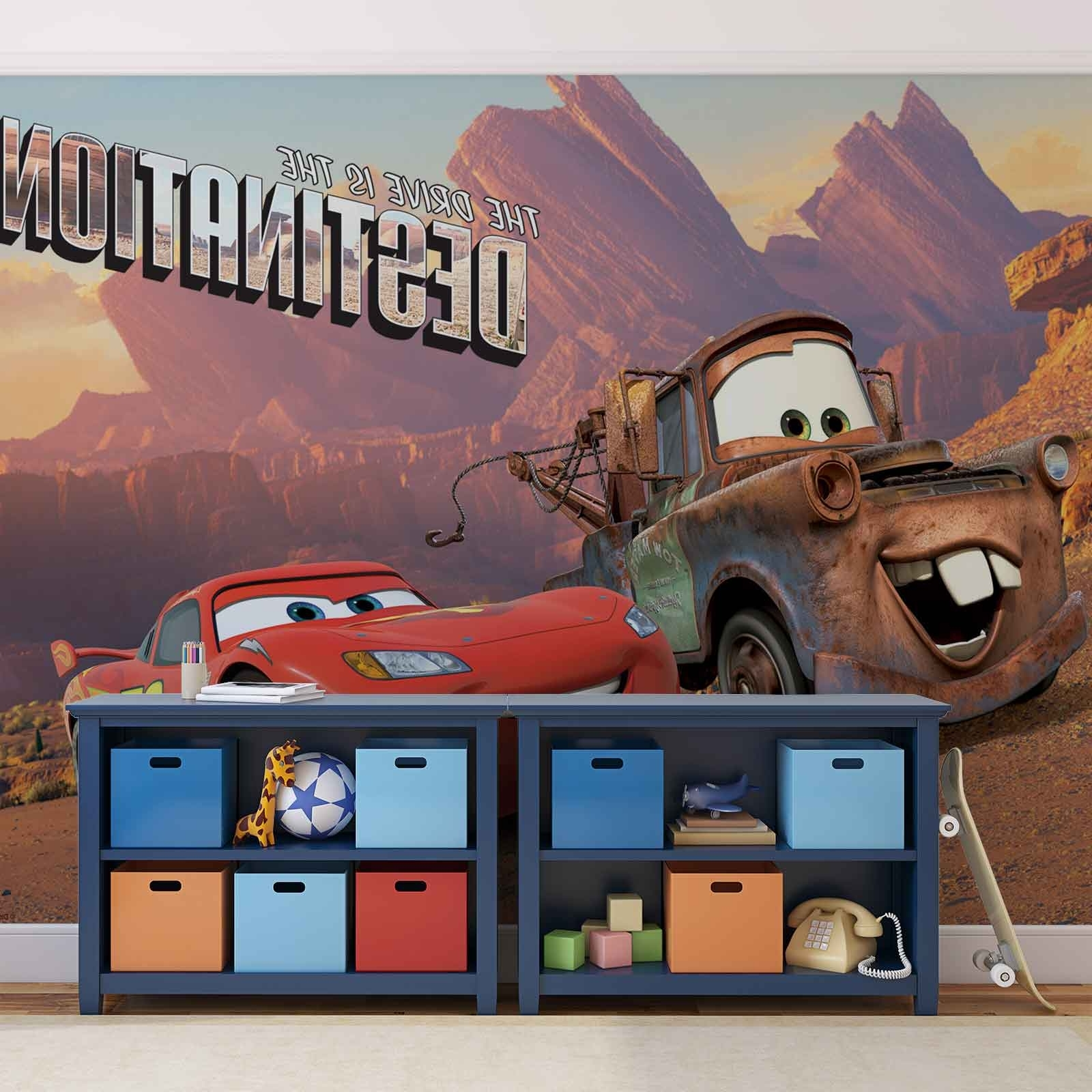 Current Lightning Mcqueen Wall Art Within Wall Mural Photo Wallpaper Xxl Disney Cars Lightning Mcqueen Mater (View 12 of 15)