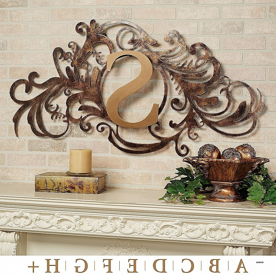Current Mermaid Wood Wall Art Unique New Monogram Metal Wall Art 29 Throughout Monogram Metal Wall Art (View 2 of 15)