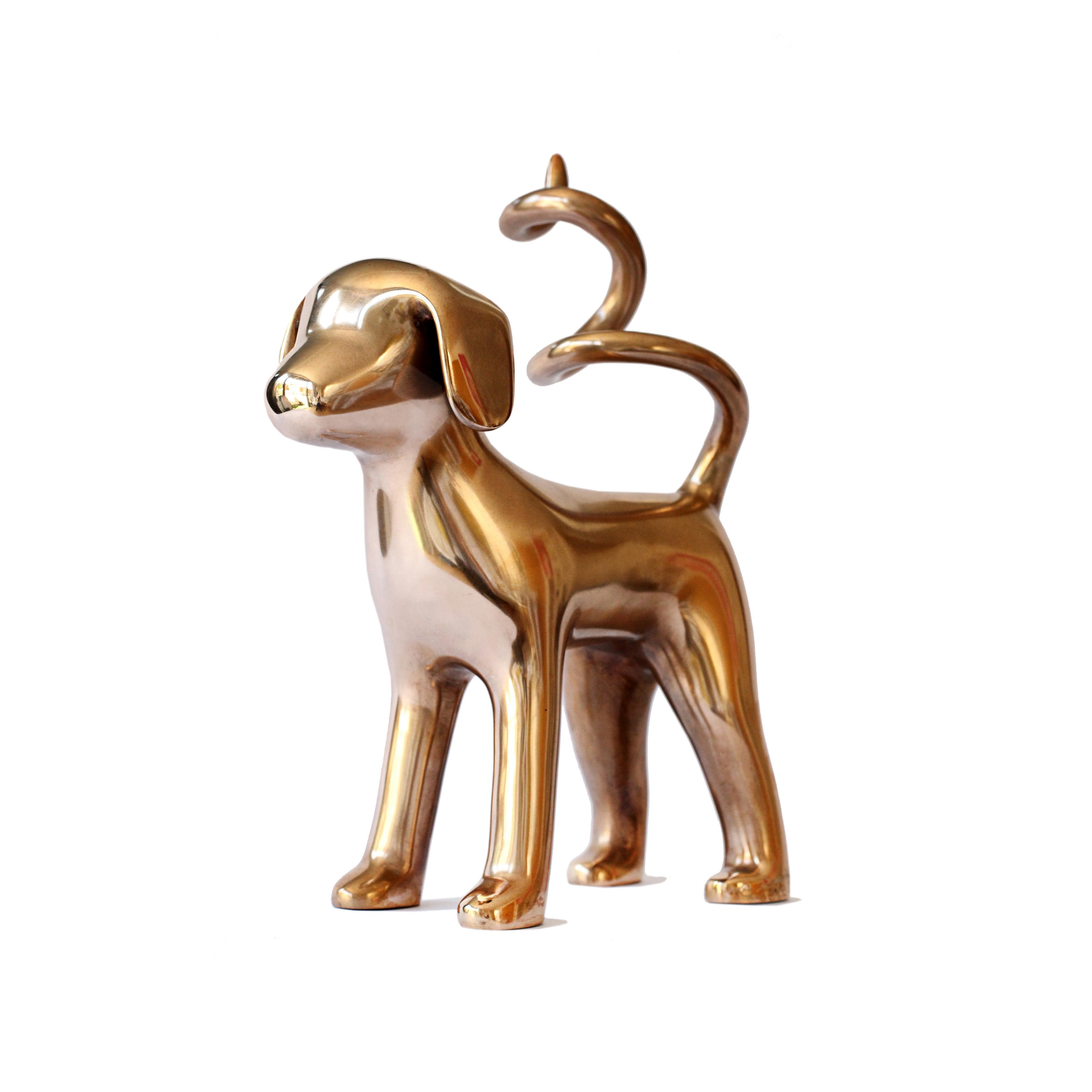 Current Mini Bronze Marsipan – Agnetha Sjögren – Doart Ltd, Contemporary In Dogs 3D Wall Art (View 3 of 15)