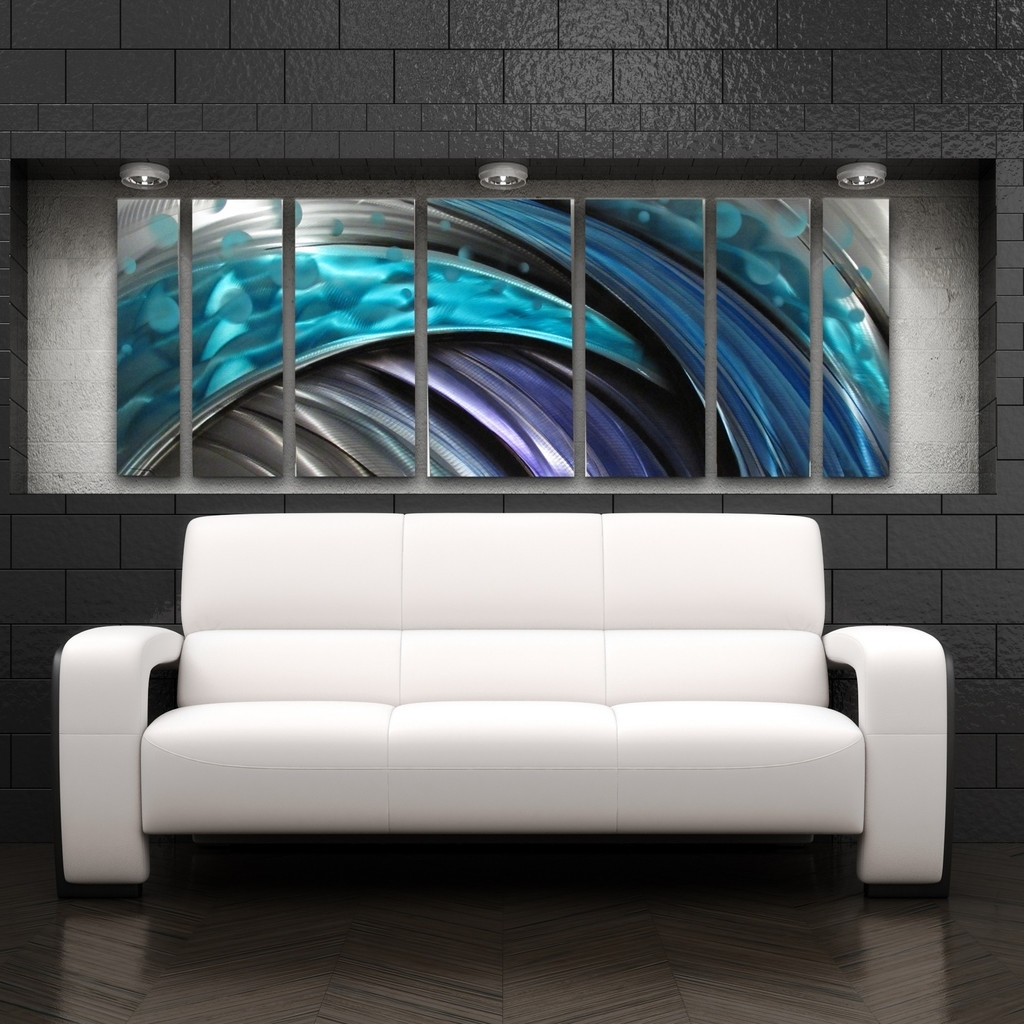 Attractive Current Modern, Industrial, And Contemporary U2013 Metal Wall Art U2013 Diy  Intended For Uk