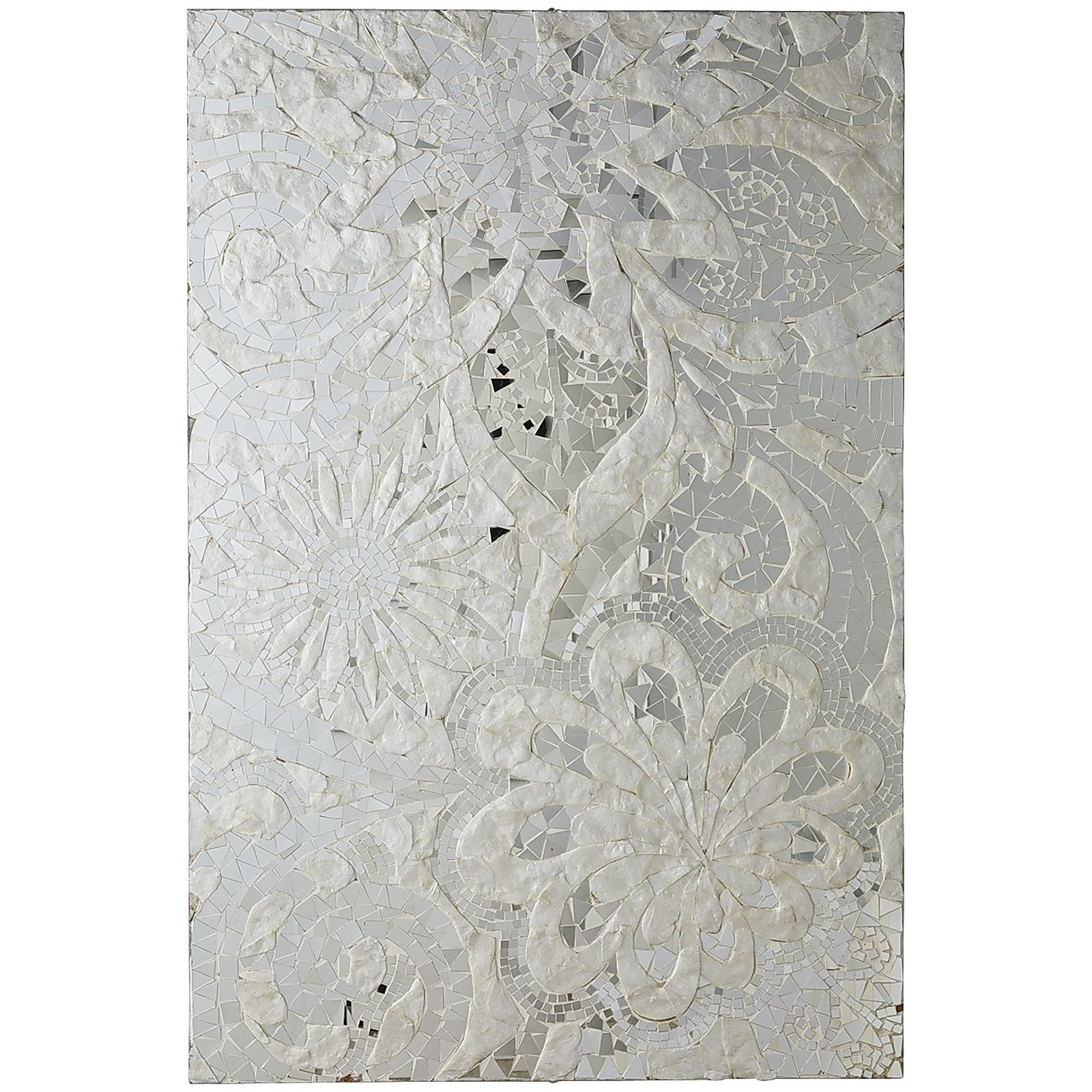 Current Mother Of Pearl Wall Art For Floral Capiz Mosaic Wall Panel (View 6 of 15)