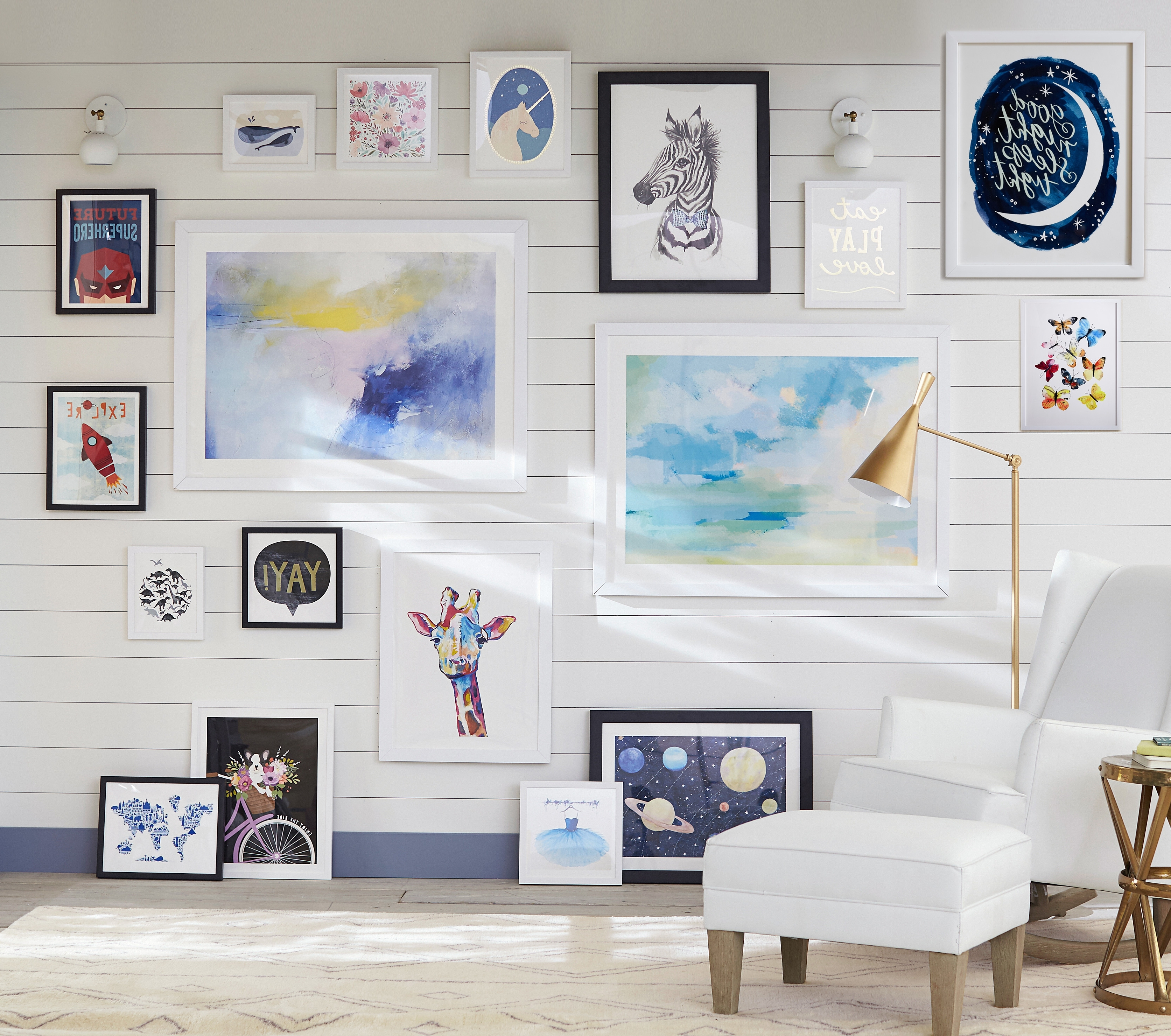 Current Pottery Barn Kids And Pbteen Debut Exclusive Wall Art Collection For Exclusive Wall Art (View 3 of 15)