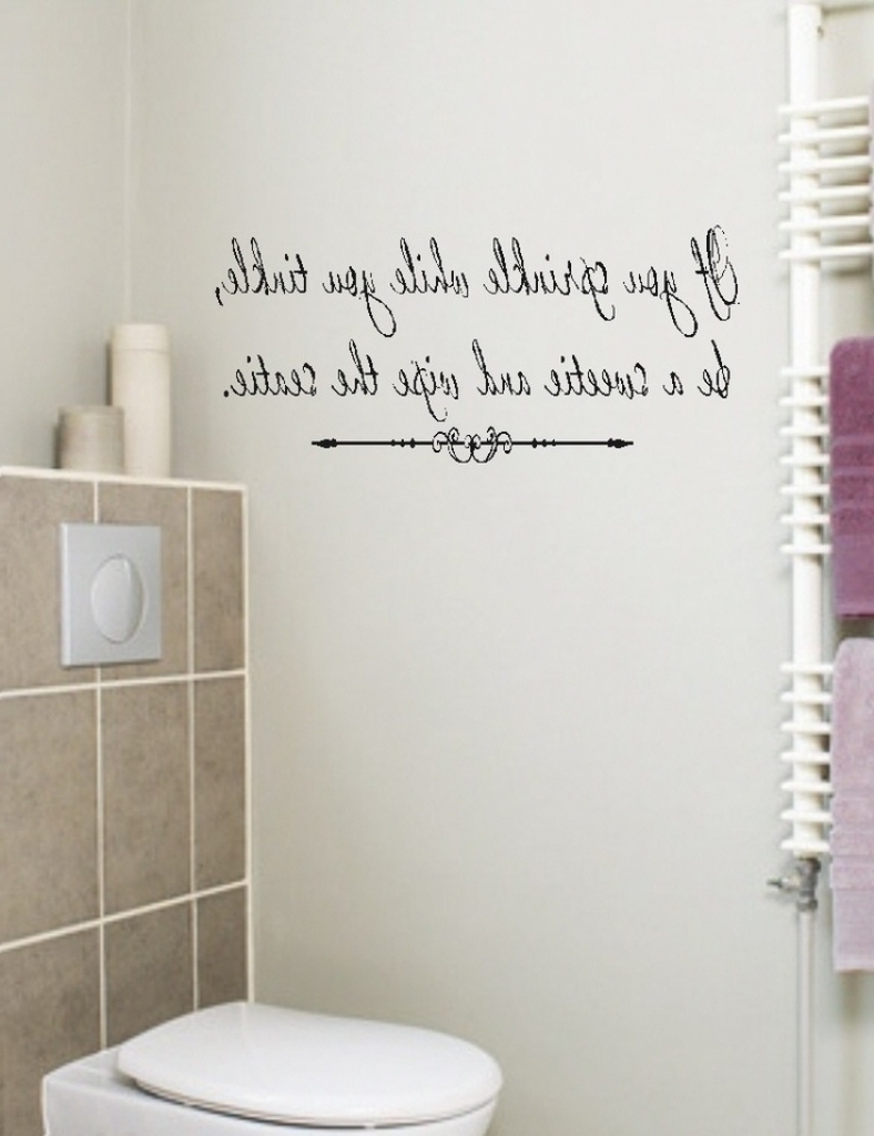 Current Shower Room Wall Art Regarding Funny Bathroom Art Etsy Brilliant Funny Bathroom Wall Decor – Home (View 3 of 15)