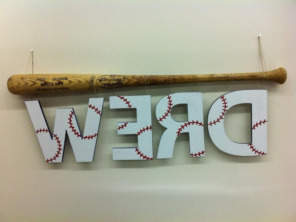 Current Vintage Baseball Wall Art Intended For Cool Idea Baseball Wall Decor  Plus Winsome Metal Art