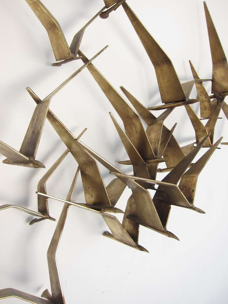 """Curtis Jere """"birds In Flight"""" Wall Sculpture (View 4 of 15)"""