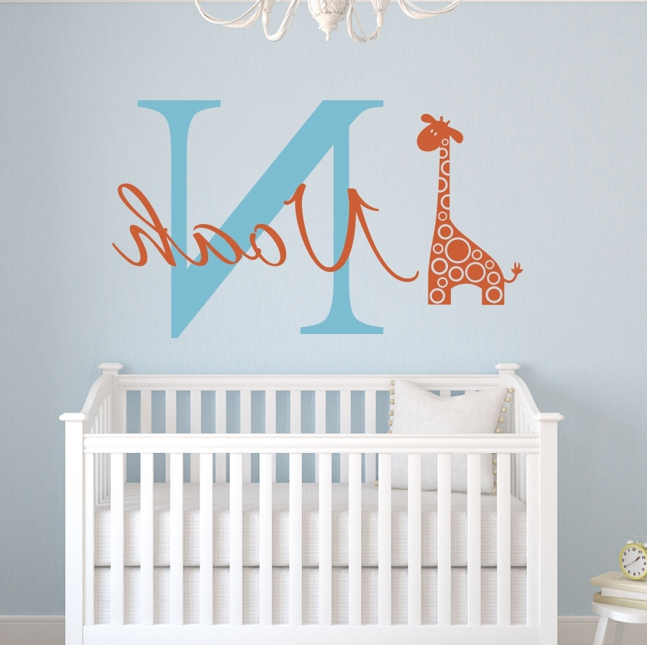 Featured Photo of Baby Name Wall Art