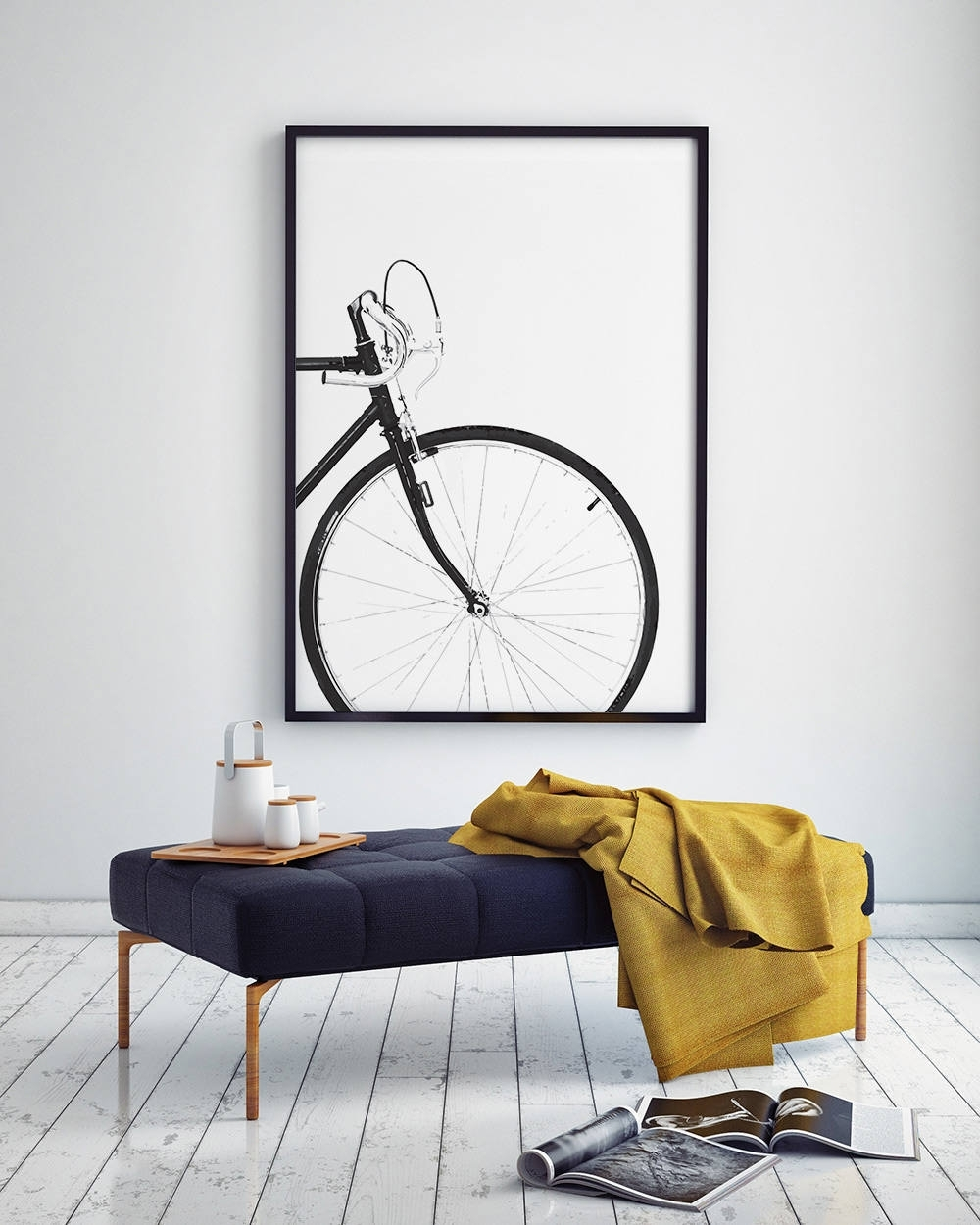 Cycling Poster, Bicycle Poster, Bike Print, Bicycle Wall Art Pertaining To Current Cycling Wall Art (View 3 of 15)