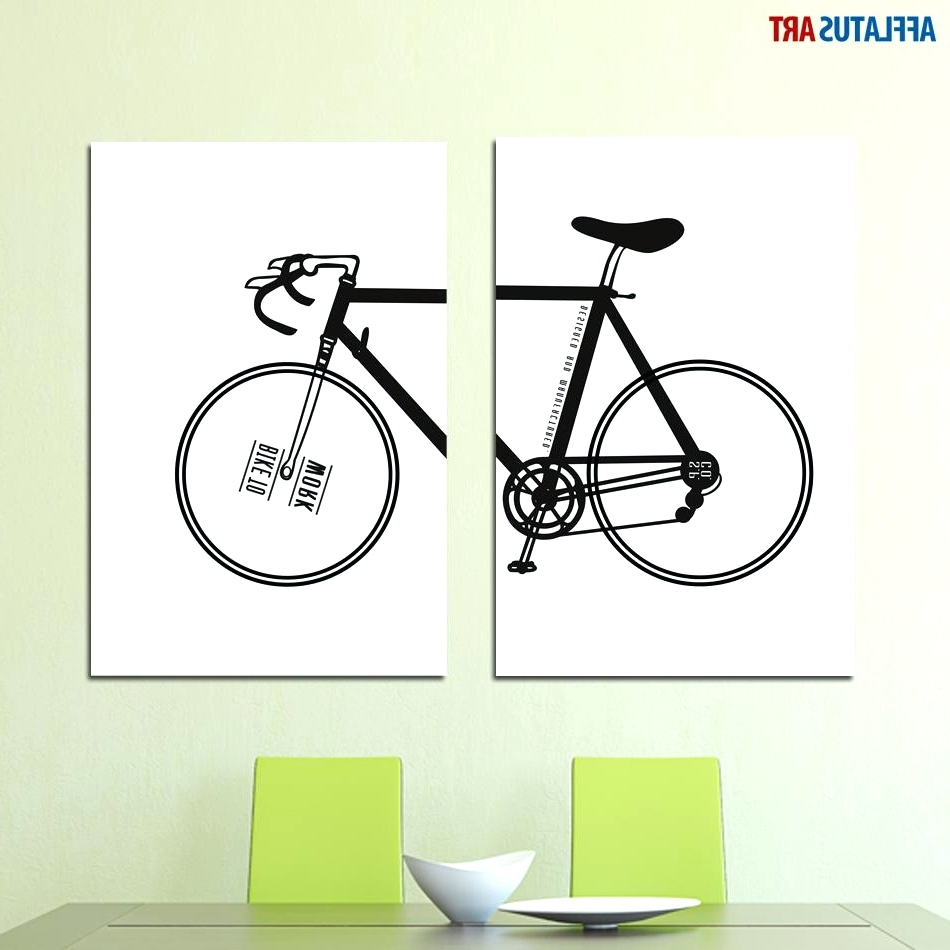 Cycling Wall Art For Most Popular Wall Arts ~ Motorbike Wall Art Stickers Dirt Bike Wall Art (View 2 of 15)