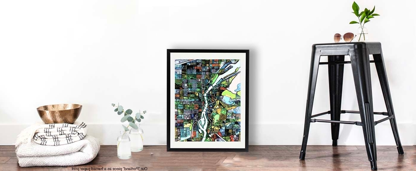 Cycling Wall Art Inside Fashionable Modern Art Prints (View 9 of 15)