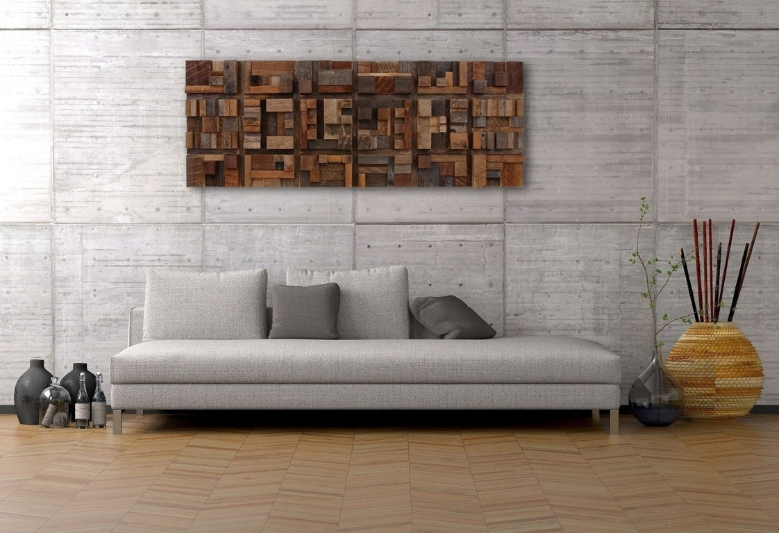 Dark Wood Wall Art With Most Popular Wall Art (View 4 of 15)