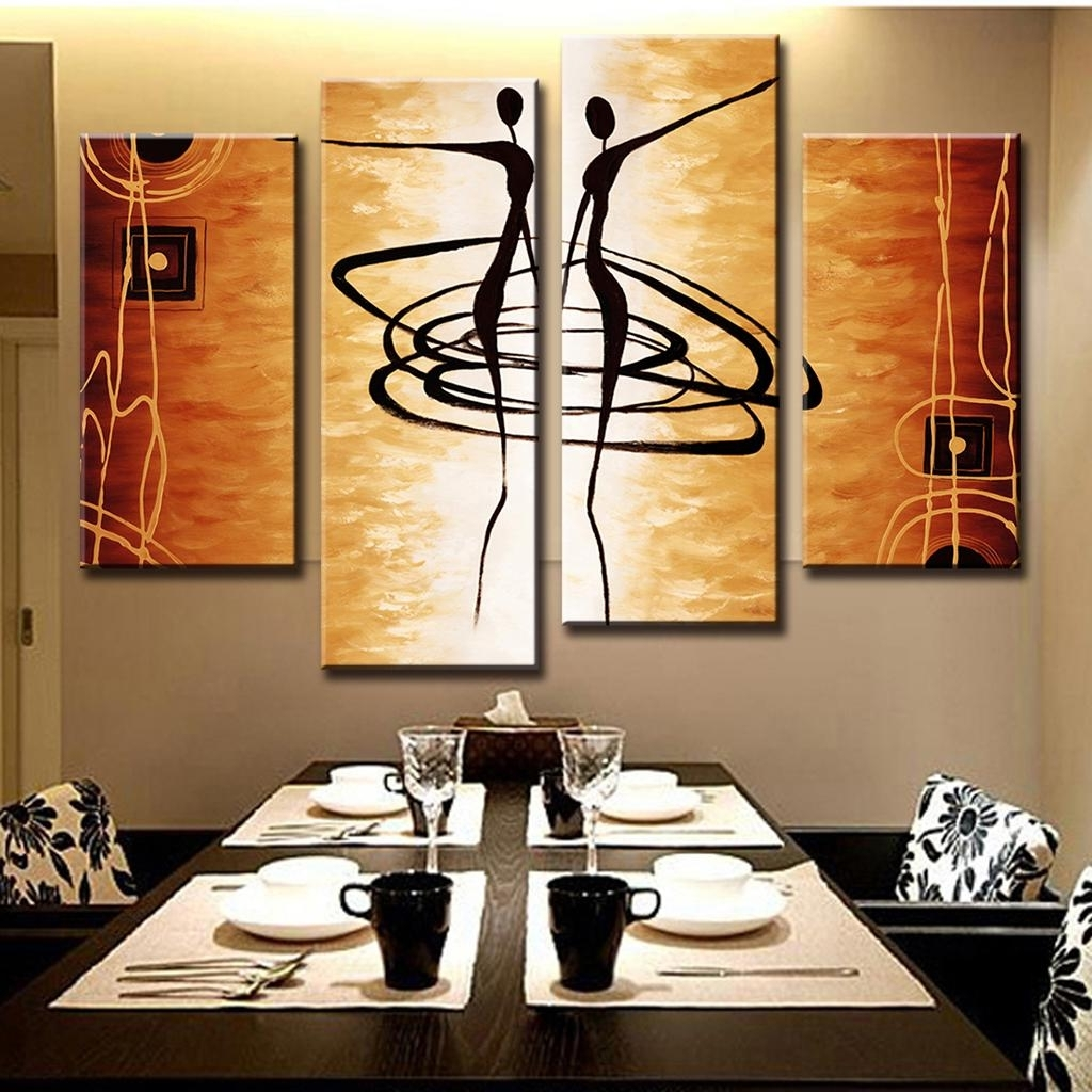 Decor: Marvellous Large Canvas Wall Art For Decorating Dining Room With Regard To 2018 Canvas Wall Art For Dining Room (View 8 of 15)