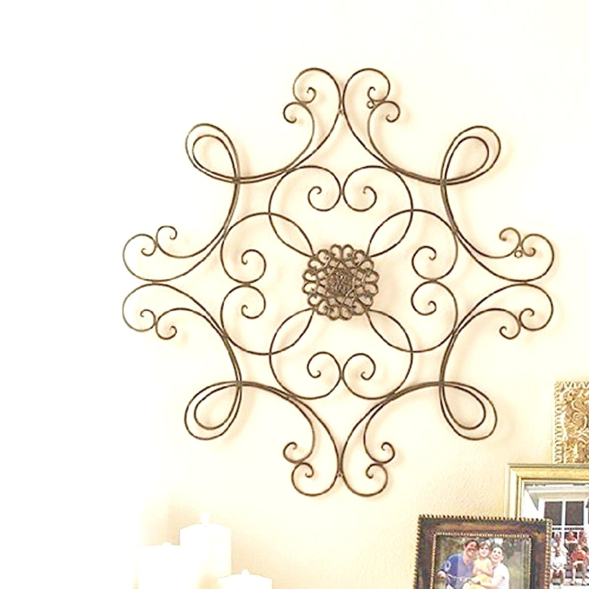 Decorative Metal Disc Wall Art Intended For Preferred Wall Arts ~ Metal Wall Art Website Inspiration Iron Wall Decor (Gallery 11 of 15)