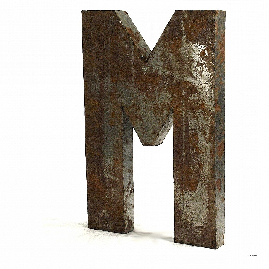 Decorative Metal Letters Wall Art Fresh Enchanting Metal Letters Regarding 2017 Decorative Metal Letters Wall Art (View 3 of 15)