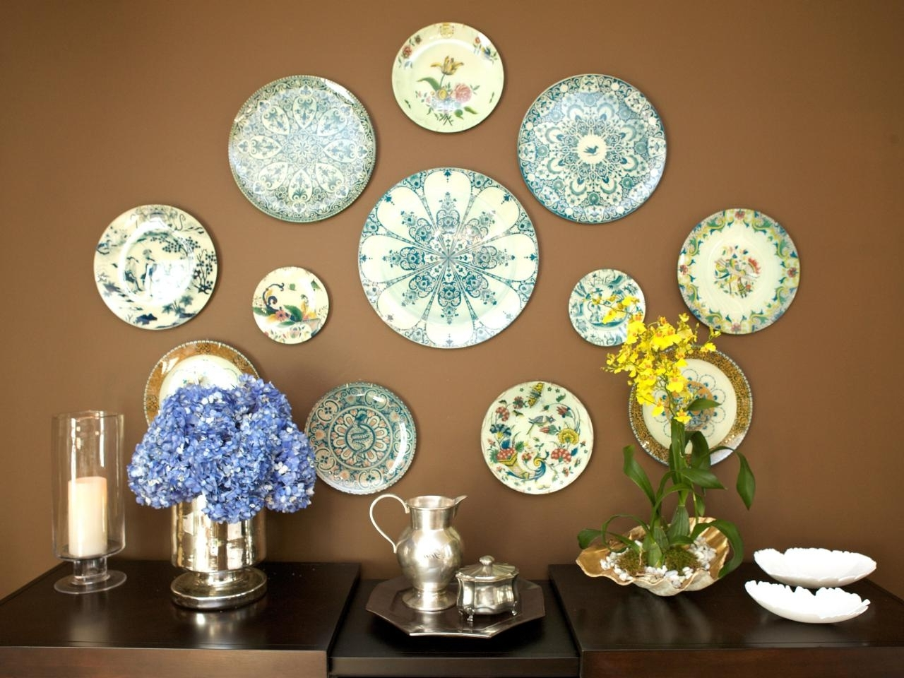 Decorative Plates For Wall Art For Trendy Decorative Dinner Plates Wall U2022  Walls Decor (View