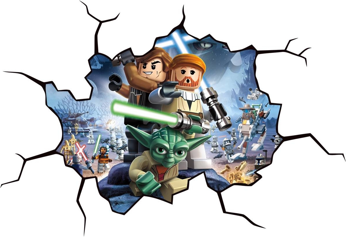 Design Idea And Decorations : Art Throughout Lego Star Wars Wall Art (Gallery 8 of 15)