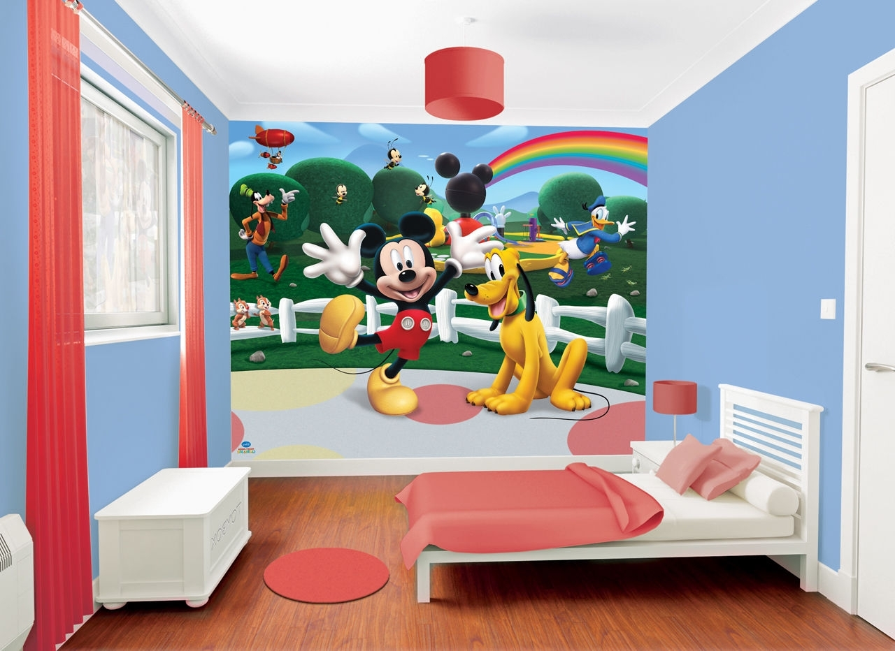 Design Idea And Regarding 2018 Mickey Mouse Clubhouse Wall Art (View 5 of 15)