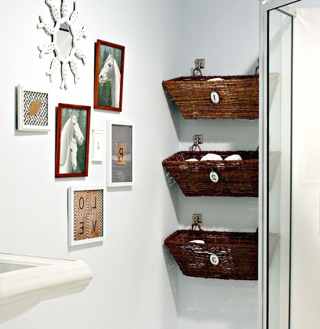 Design Of Architecture And In 27 Regarding Bathroom Wall Hangings (View 5 of 15)
