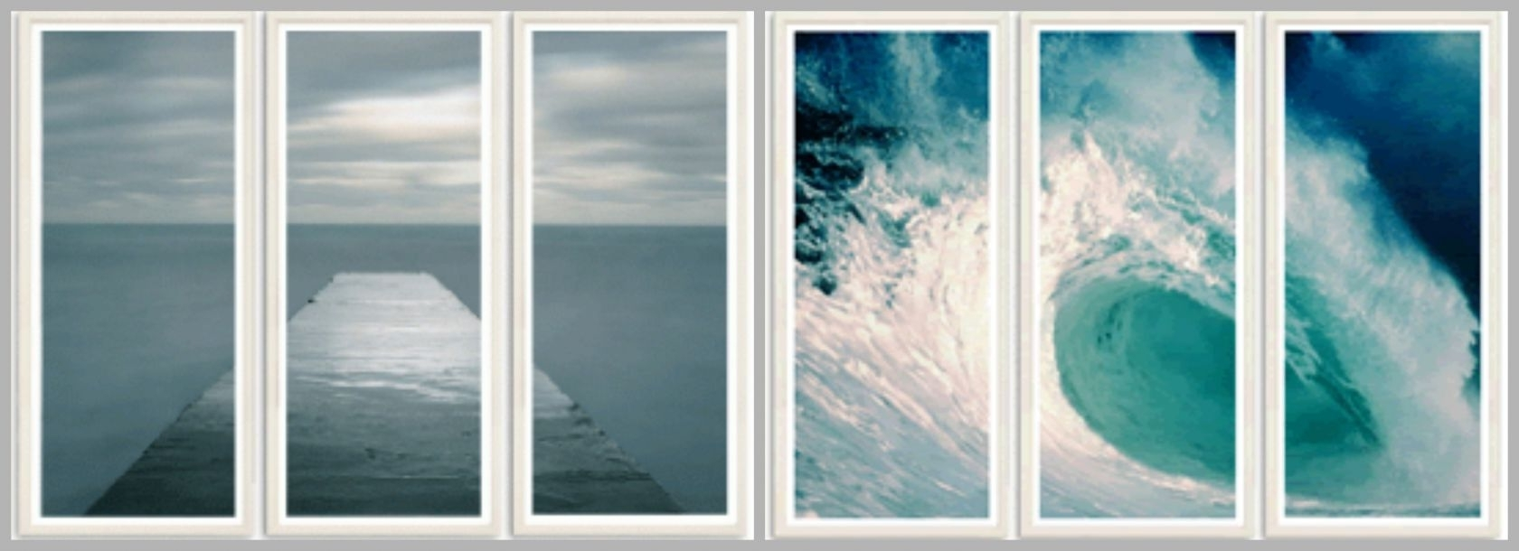 Design Tips: How To Give A Blank Wall Big Coastal Style Throughout Most Up To Date Coastal Wall Art (View 8 of 15)