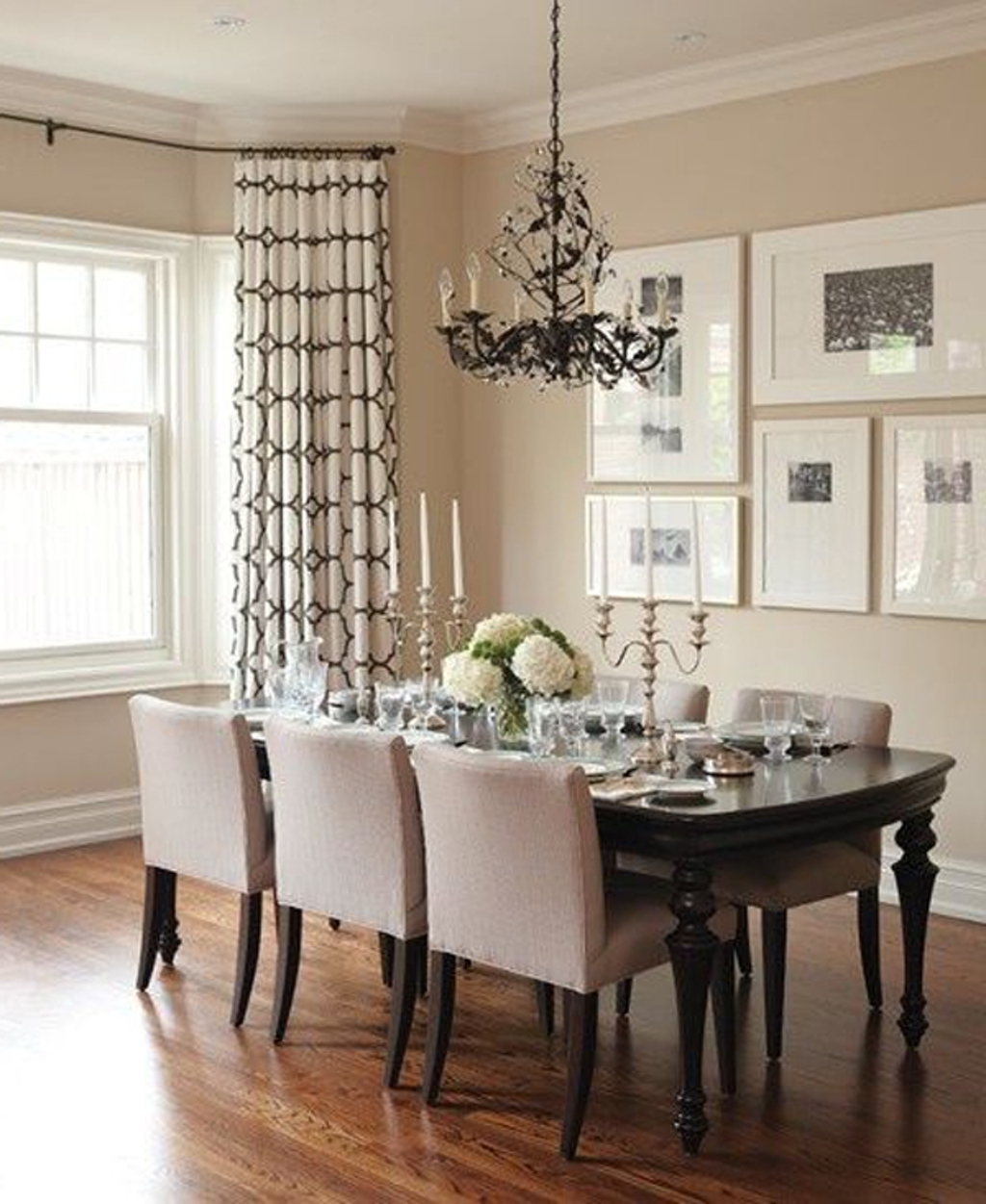 Dining Room: Neutral Dining Room With Modern Wall Art – 20 Modern Regarding Trendy Dining Area Wall Art (Gallery 15 of 15)