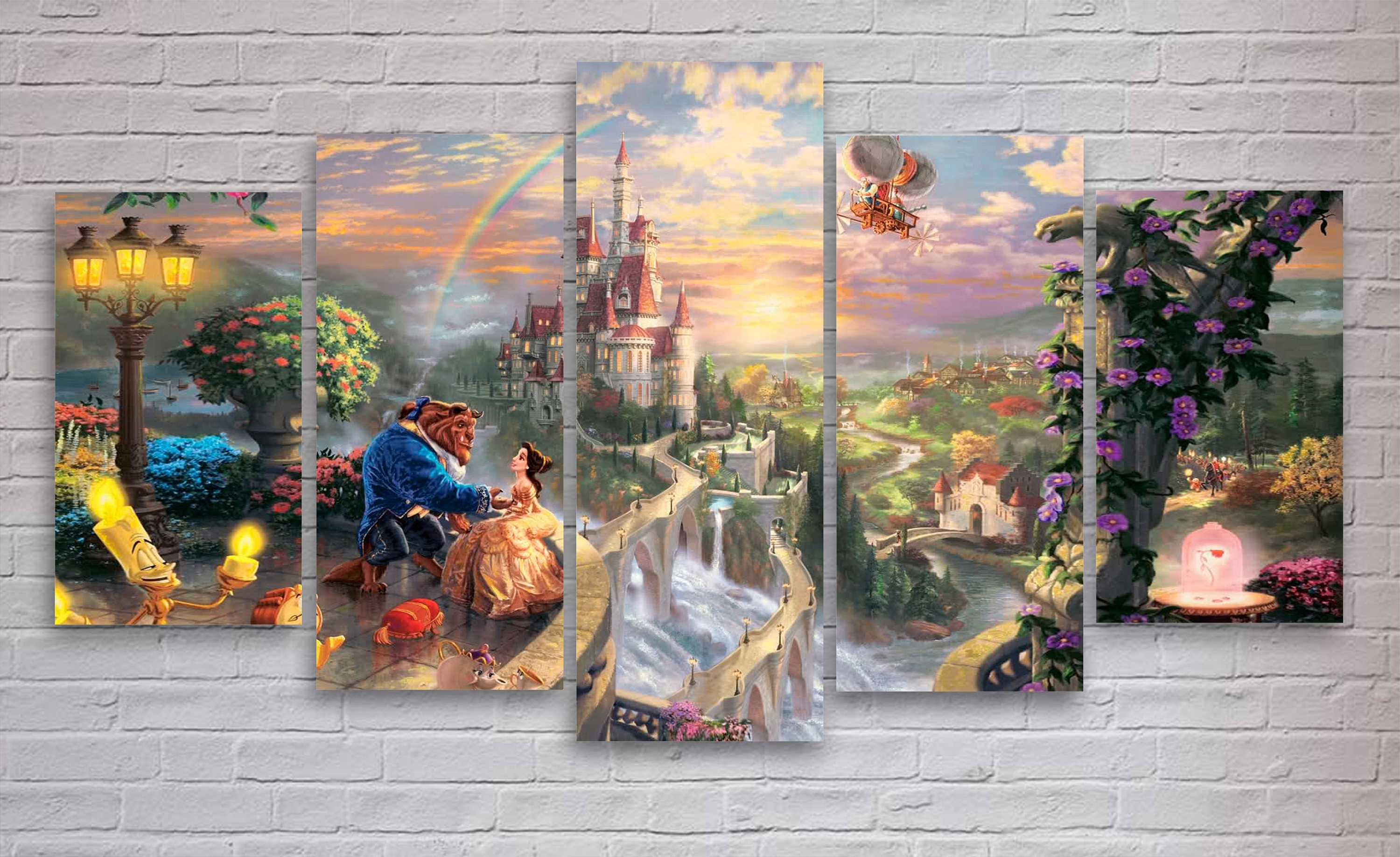 Disney Canvas Wall Art Regarding Famous Wonderful Design Ideas Disney Canvas Wall Art – Wall Decoration Ideas (View 13 of 15)