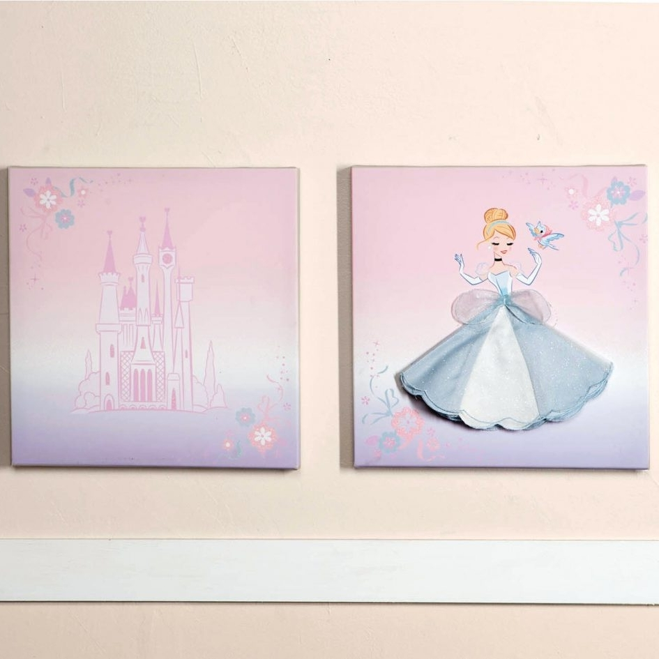 Disney Canvas Wall Art Throughout Widely Used Decorations (View 4 of 15)