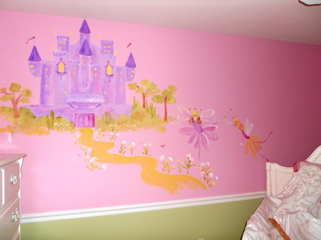 Disney Princess Wall Art Throughout Widely Used Princess Wall Decals (View 4 of 15)