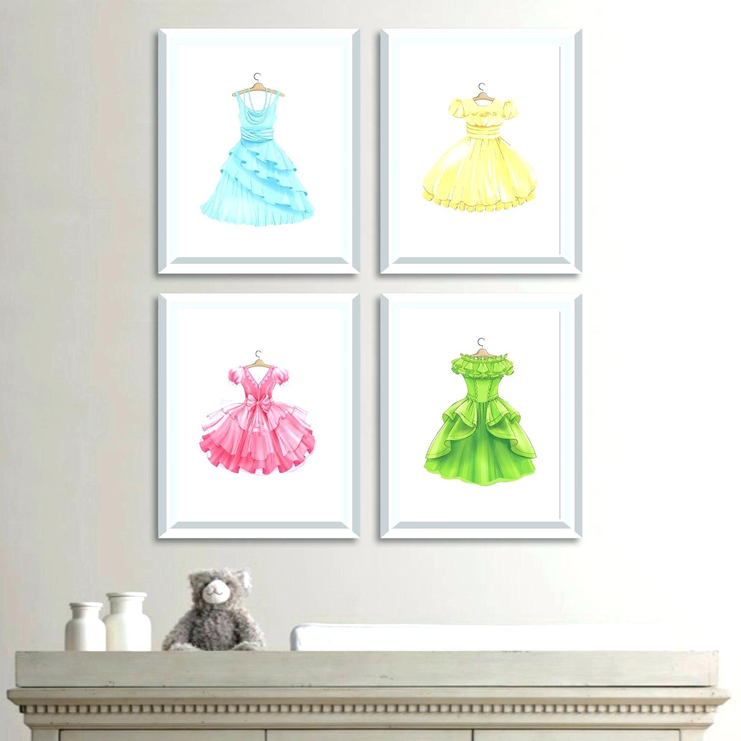 Disney Princess Wall Decals For Kids Rooms Amazing Ideas Princess For Well Liked Princess Canvas Wall Art (View 2 of 15)