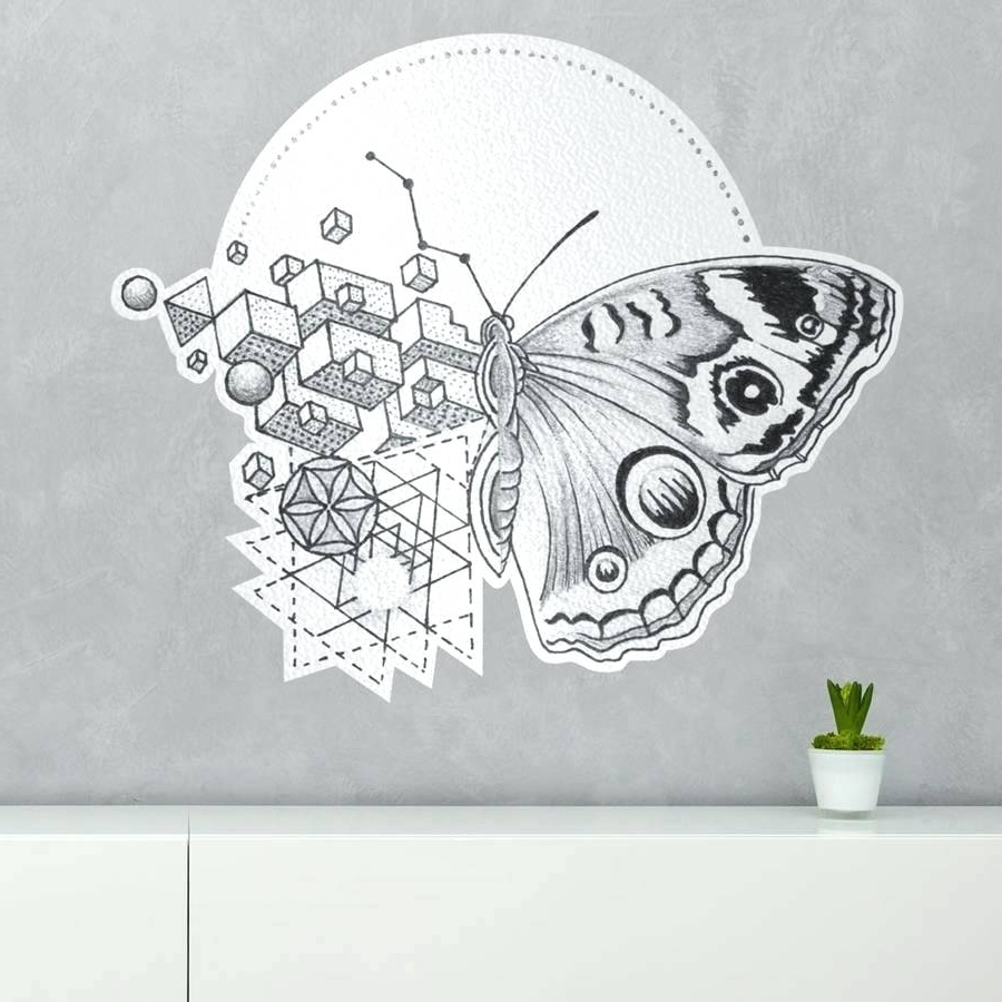 Diy 3D Butterfly Wall Art In Most Recent Wall Arts ~ Wall Art Canvas Butterflies Wall Art Butterflies Diy (View 4 of 15)