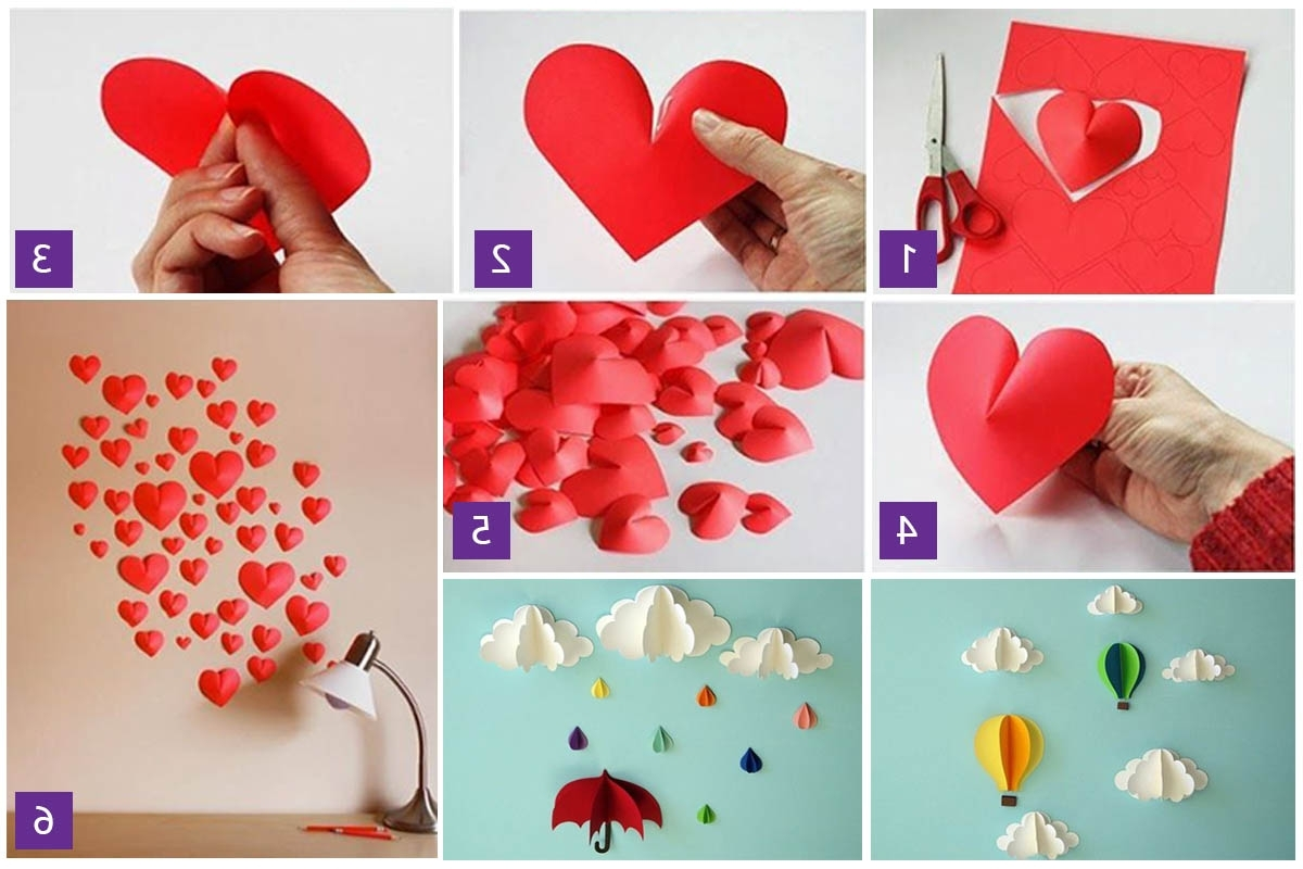 Diy 3d Paper Wall Art Regarding Well Known 3d Paper Wall Art Diy (View 15 of 15)