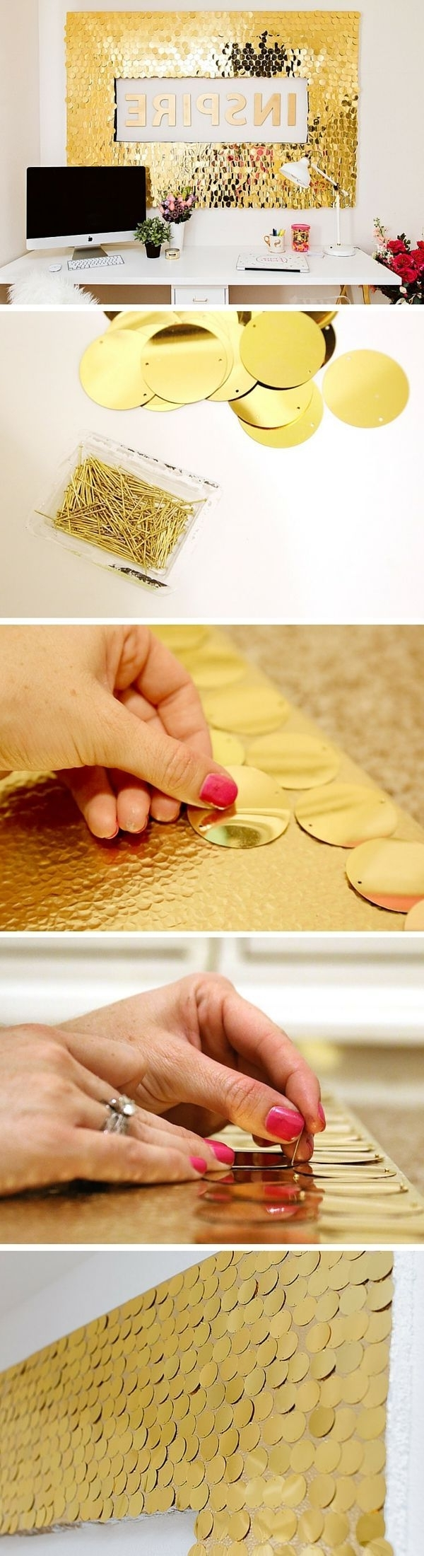 Diy Art Projects, Hexagon With Latest Pinterest Diy Wall Art (View 4 of 15)