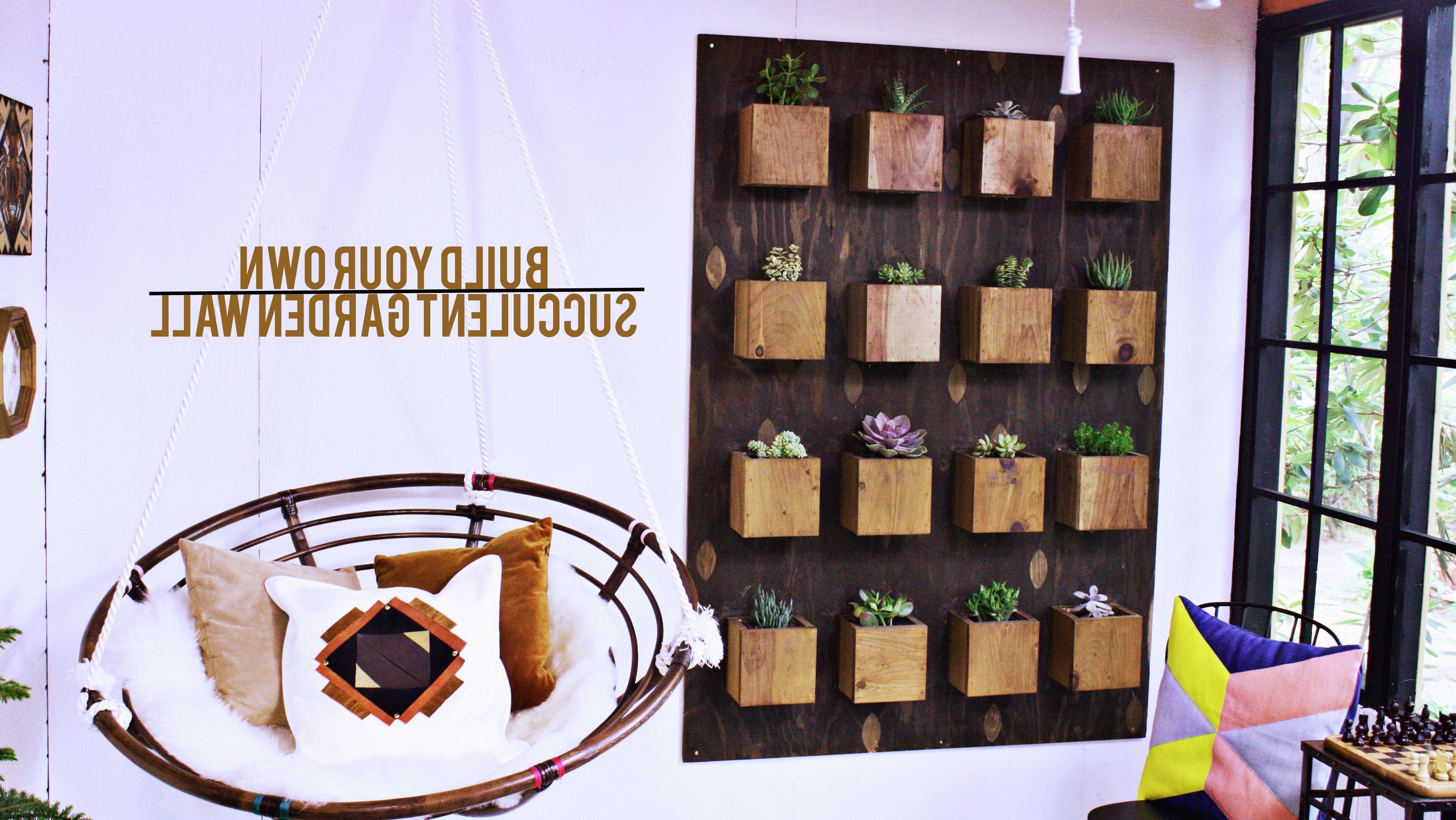 Diy Garden Wall – Urban Sunroom Makeover – East Coast Creative Blog Throughout Most Popular Diy Garden Wall Art (View 5 of 15)