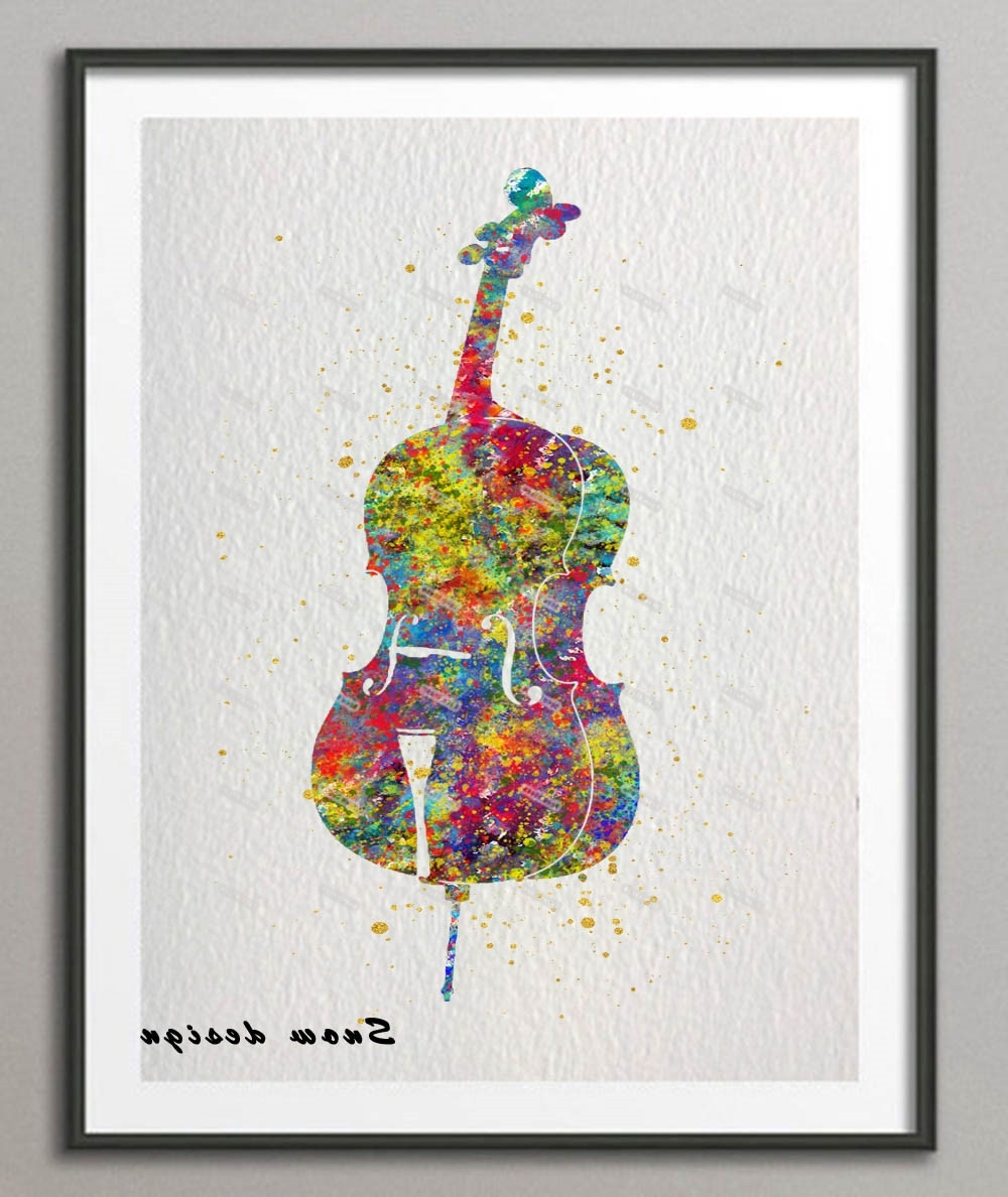 Very Gallery of Musical Instrument Wall Art (View 12 of 15 Photos) ID84