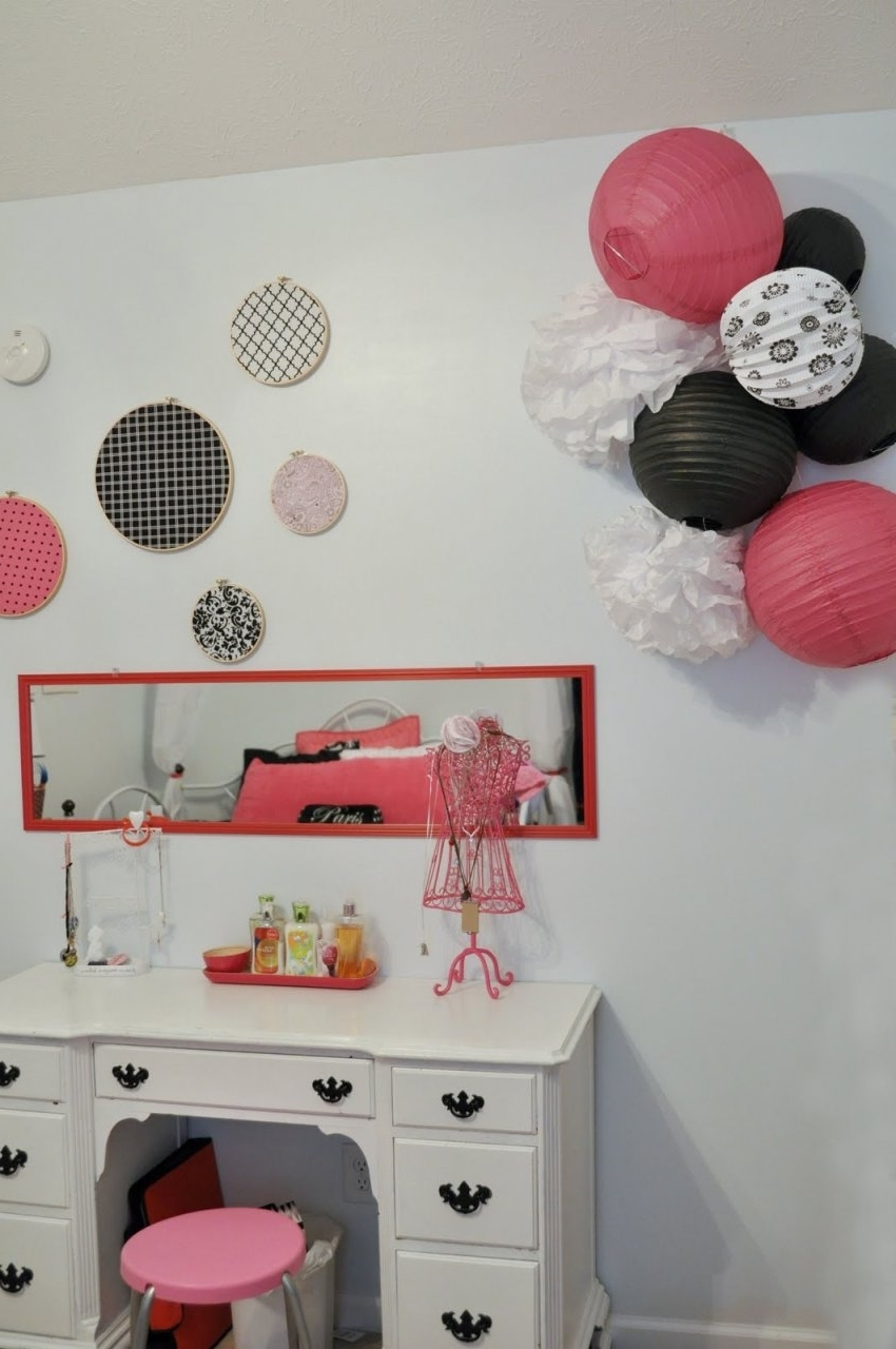 Diy Paris Themed Party Decor Walmart Decorations For Girls Bedroom Within Preferred Paris Themed Stickers (View 2 of 15)
