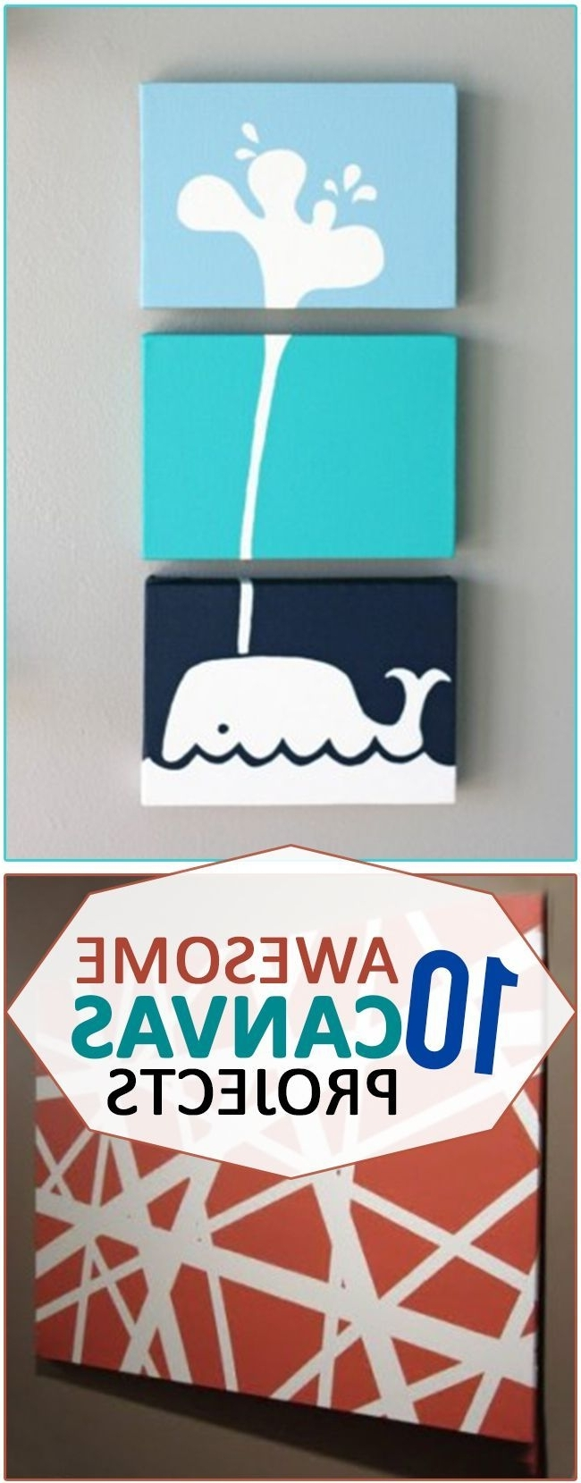 Diy Pinterest Canvas Art Pertaining To Recent Best 25+ Diy Canvas Ideas On Pinterest (View 9 of 15)