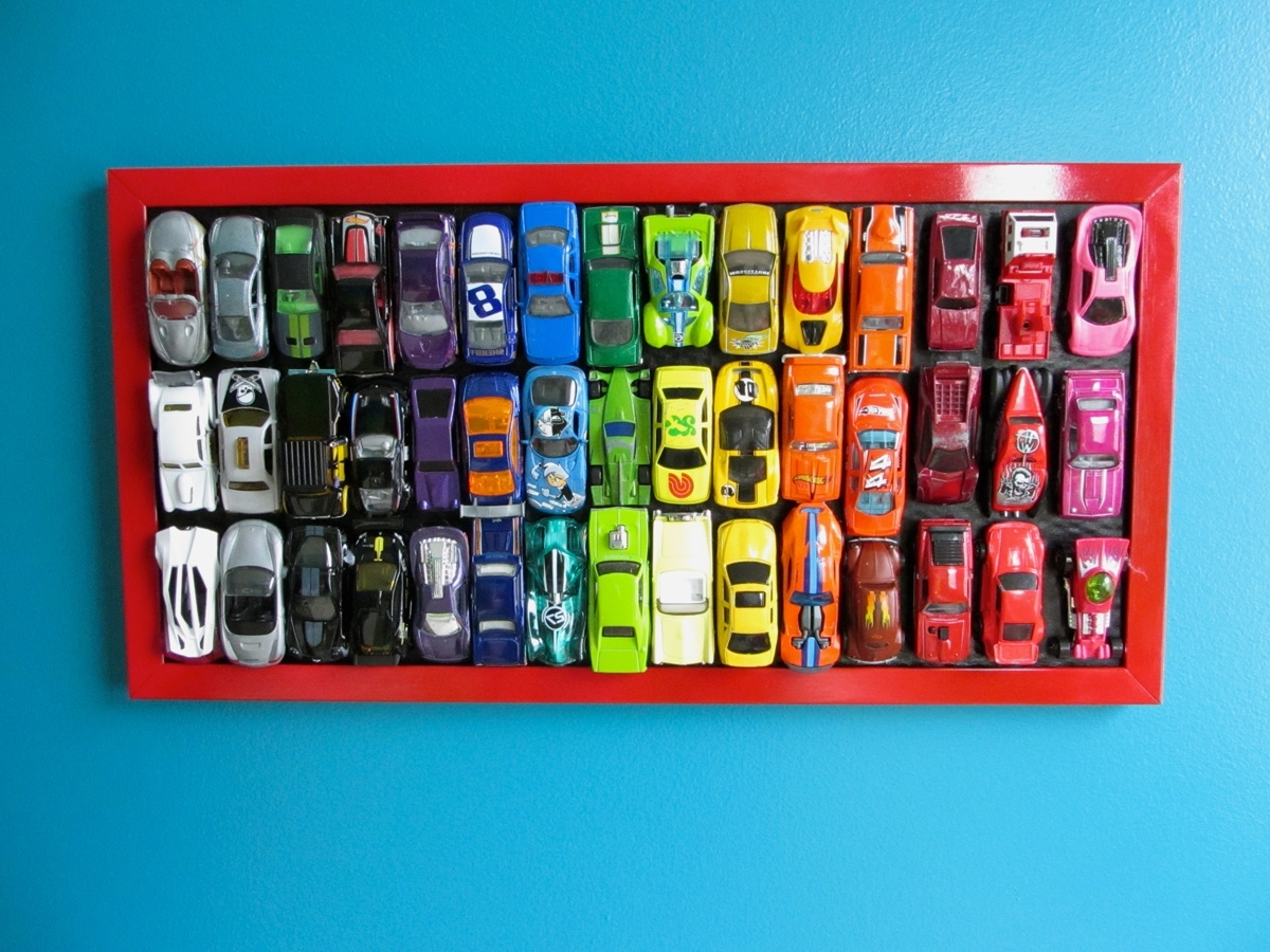 Featured Photo of Hot Wheels Wall Art
