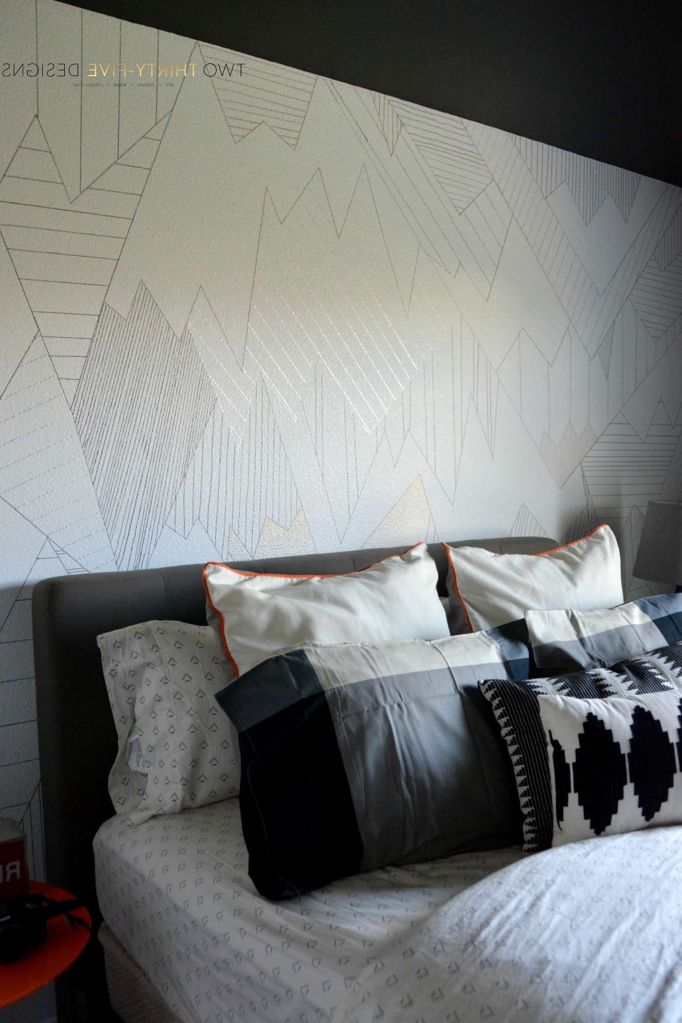 Diy Sharpie Wall – Two Thirty Five Designs Throughout Most Recently Released Sharpie Wall Art (View 2 of 15)