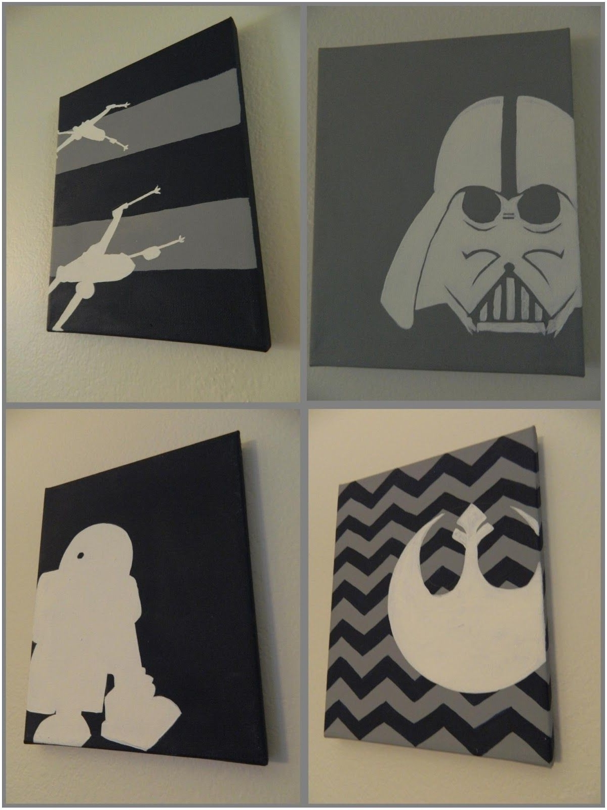 Diy Star Wars Nursery Wall Pictures (View 3 of 15)